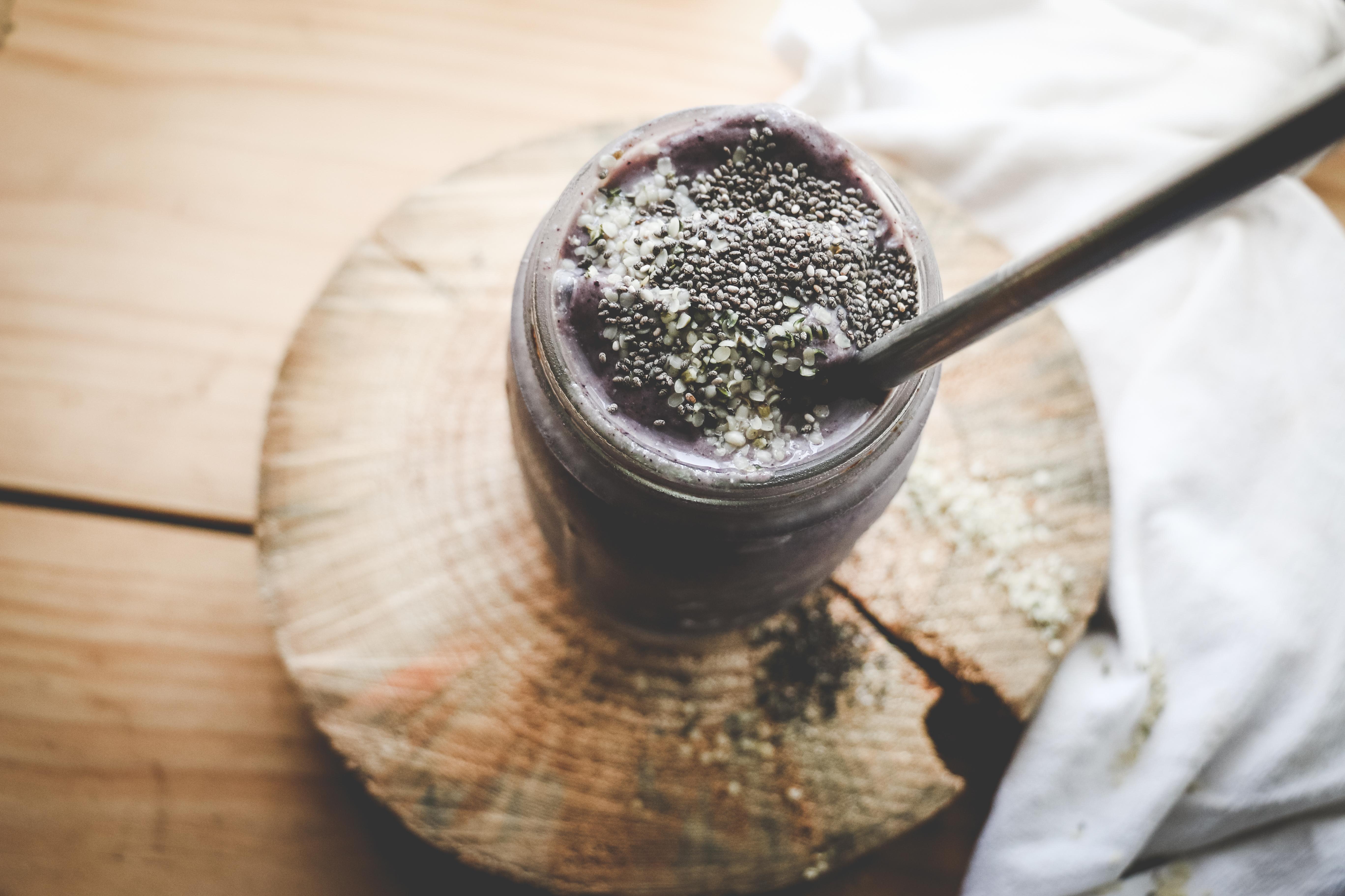 Blueberry-Cardamom Smoothie