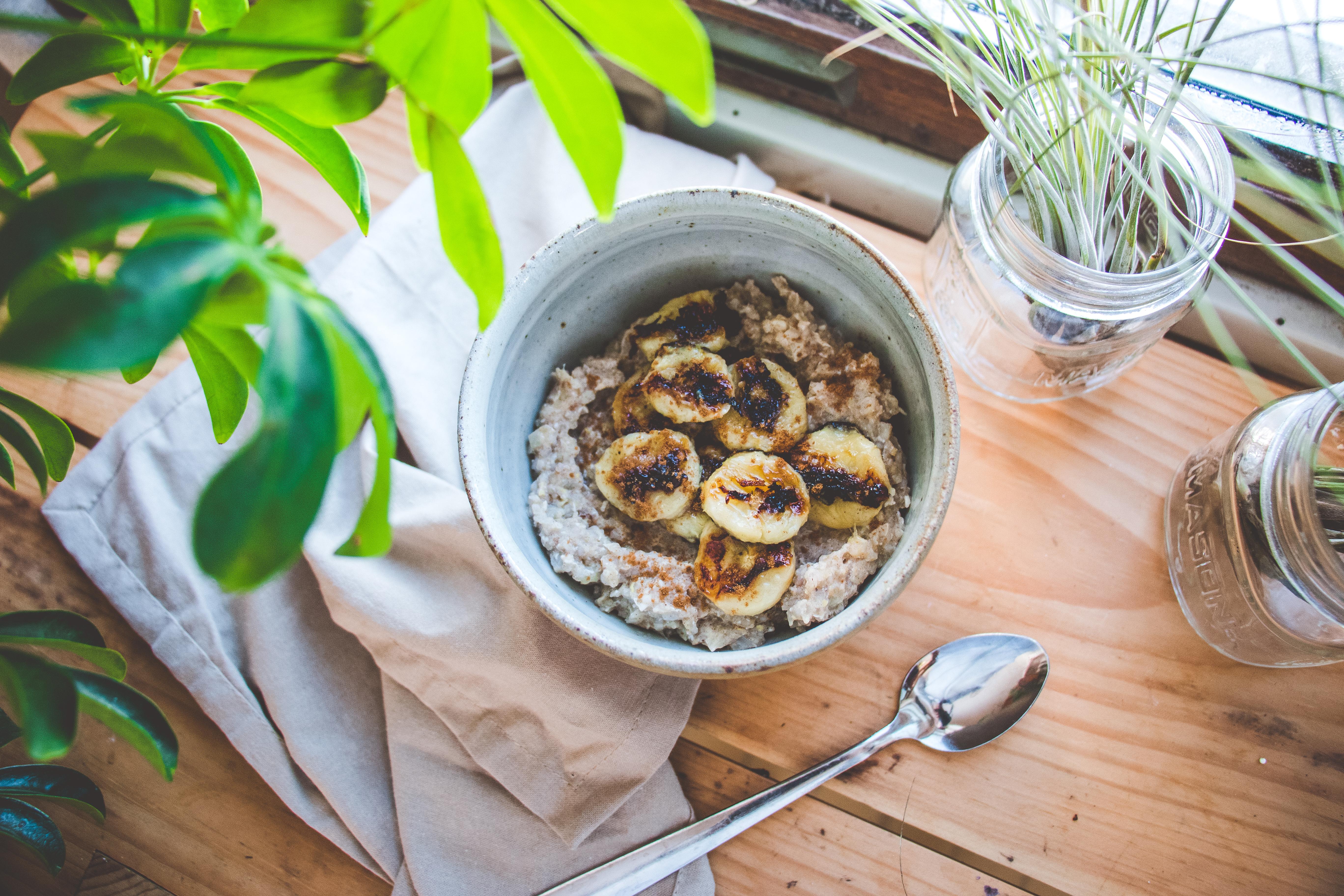 Banana Brûlée Porridge
