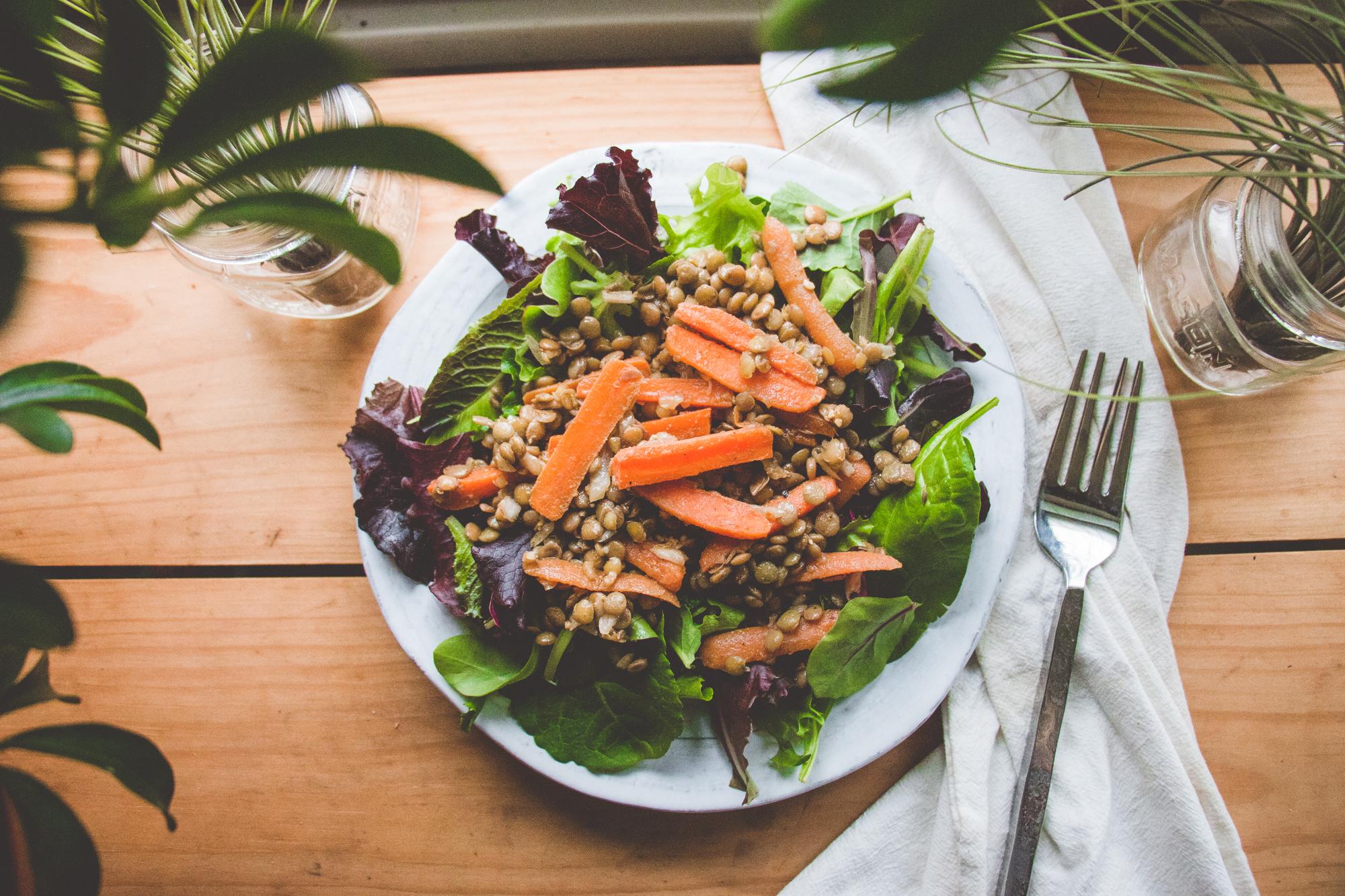 Masala Lentil Salad