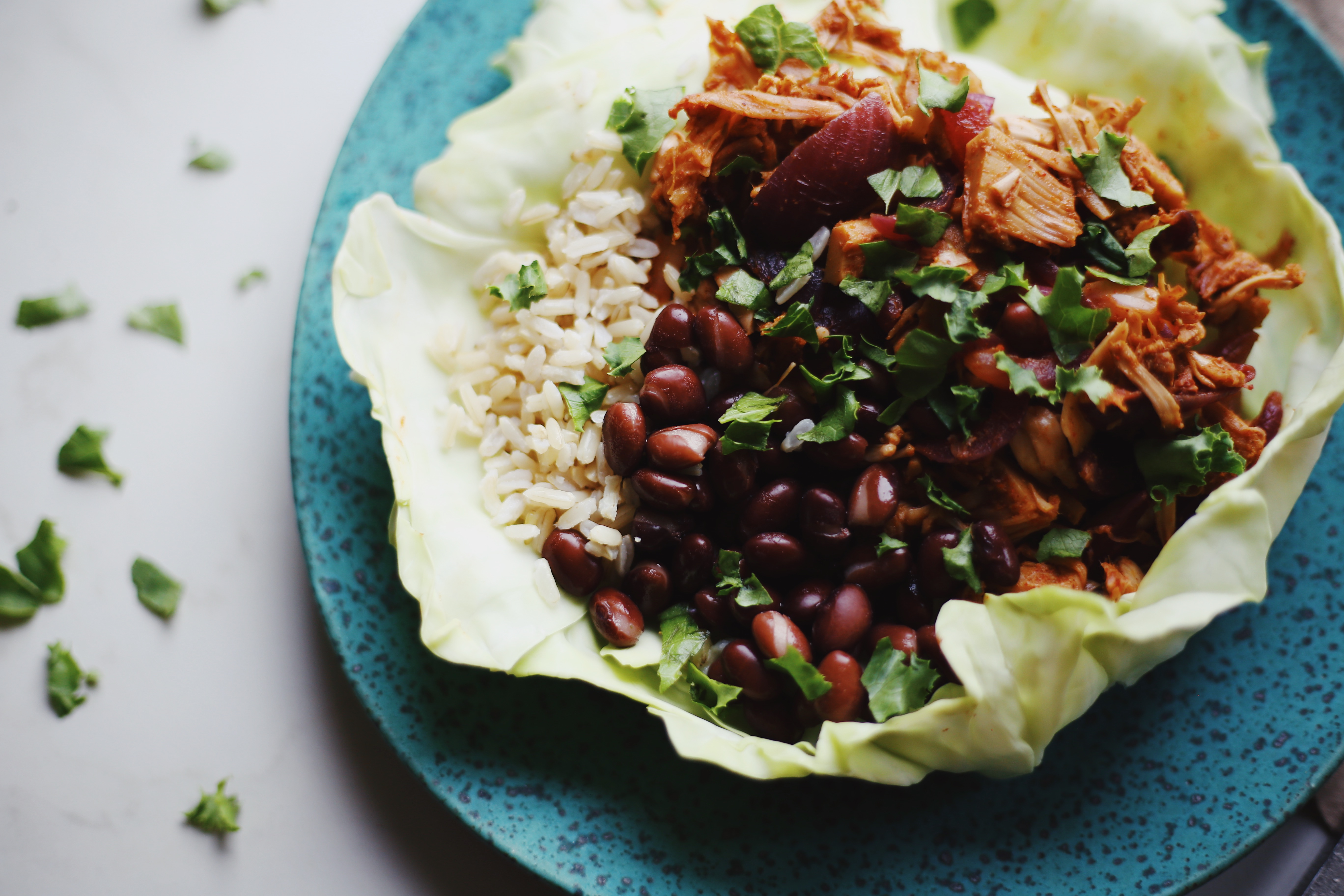Vegan Mexican Jackfruit Bowls Gluten Free by The Local Sprout