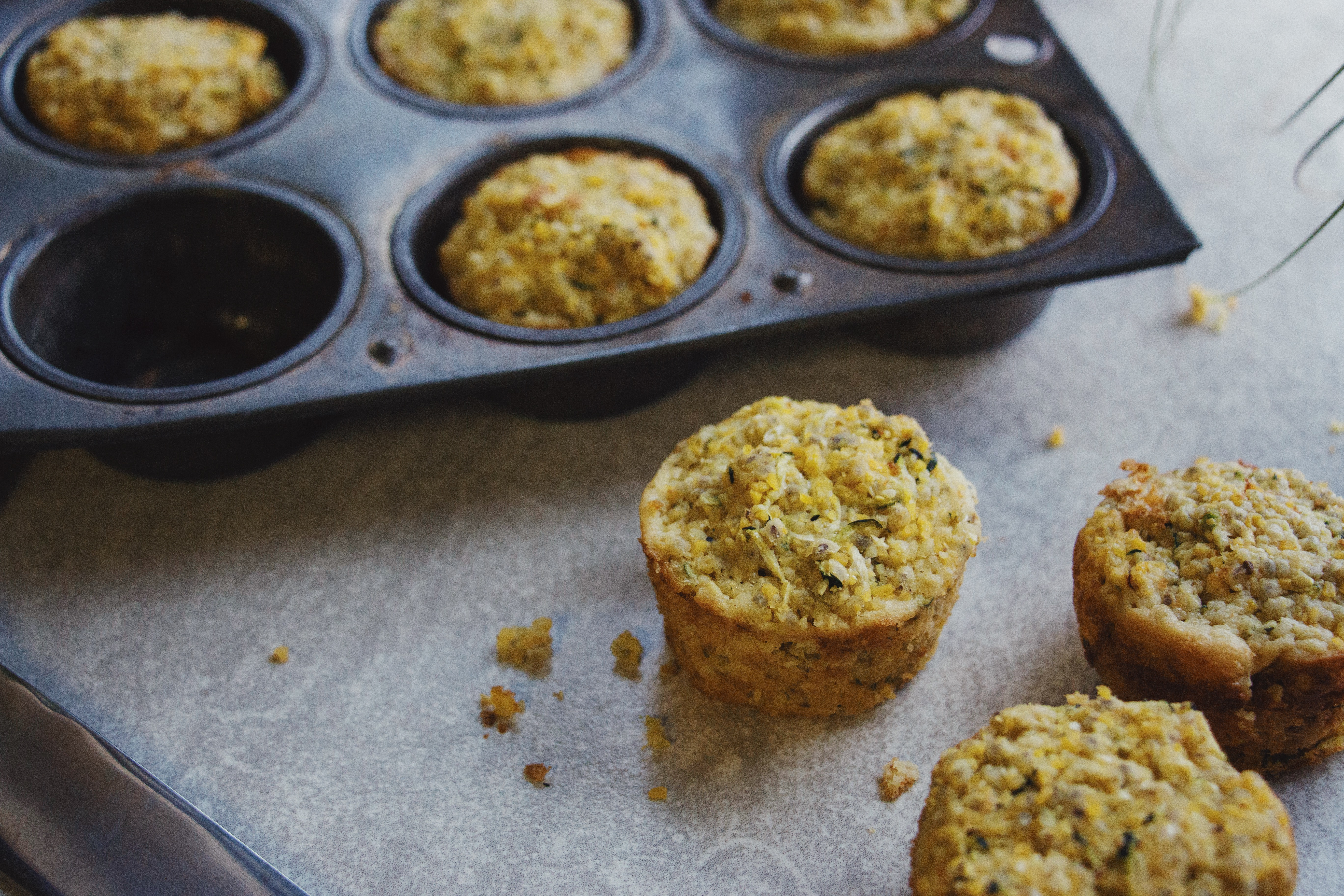Gluten Free Cornbread muffins for summer