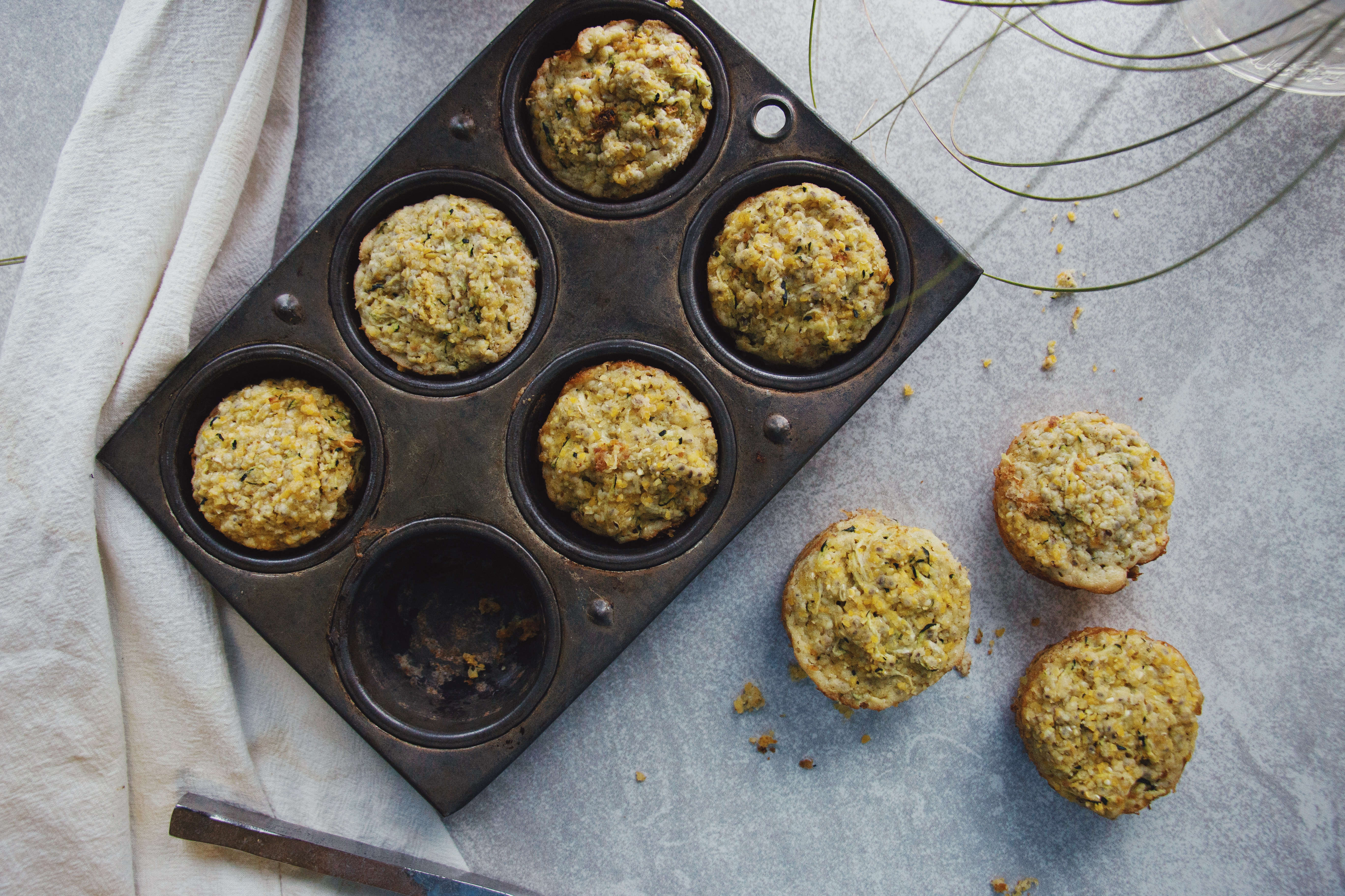 The Local Sprout Cornbread muffins, gluten free, spicy, dairy free, healthy