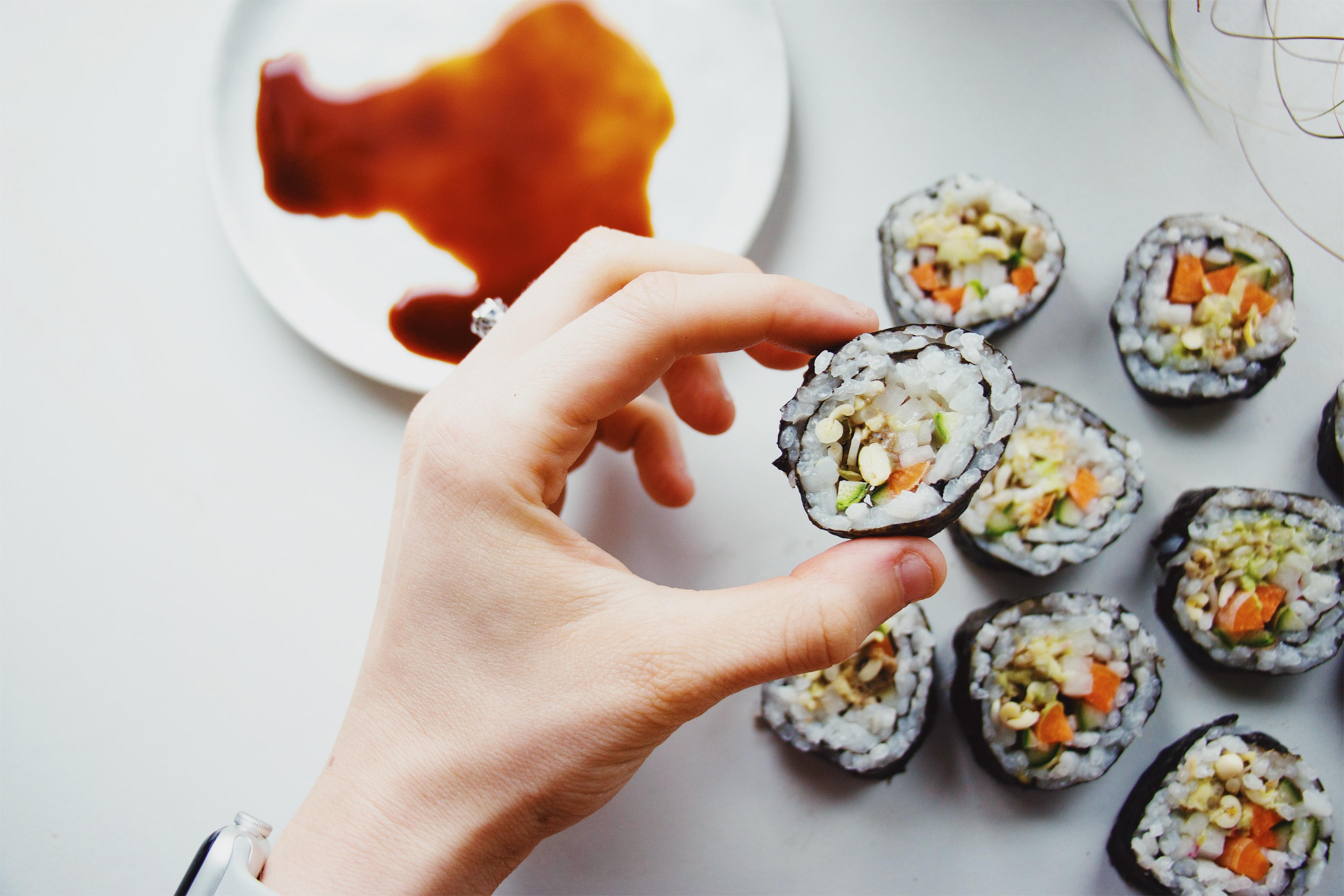 Easy Sushi Rolls Recipe