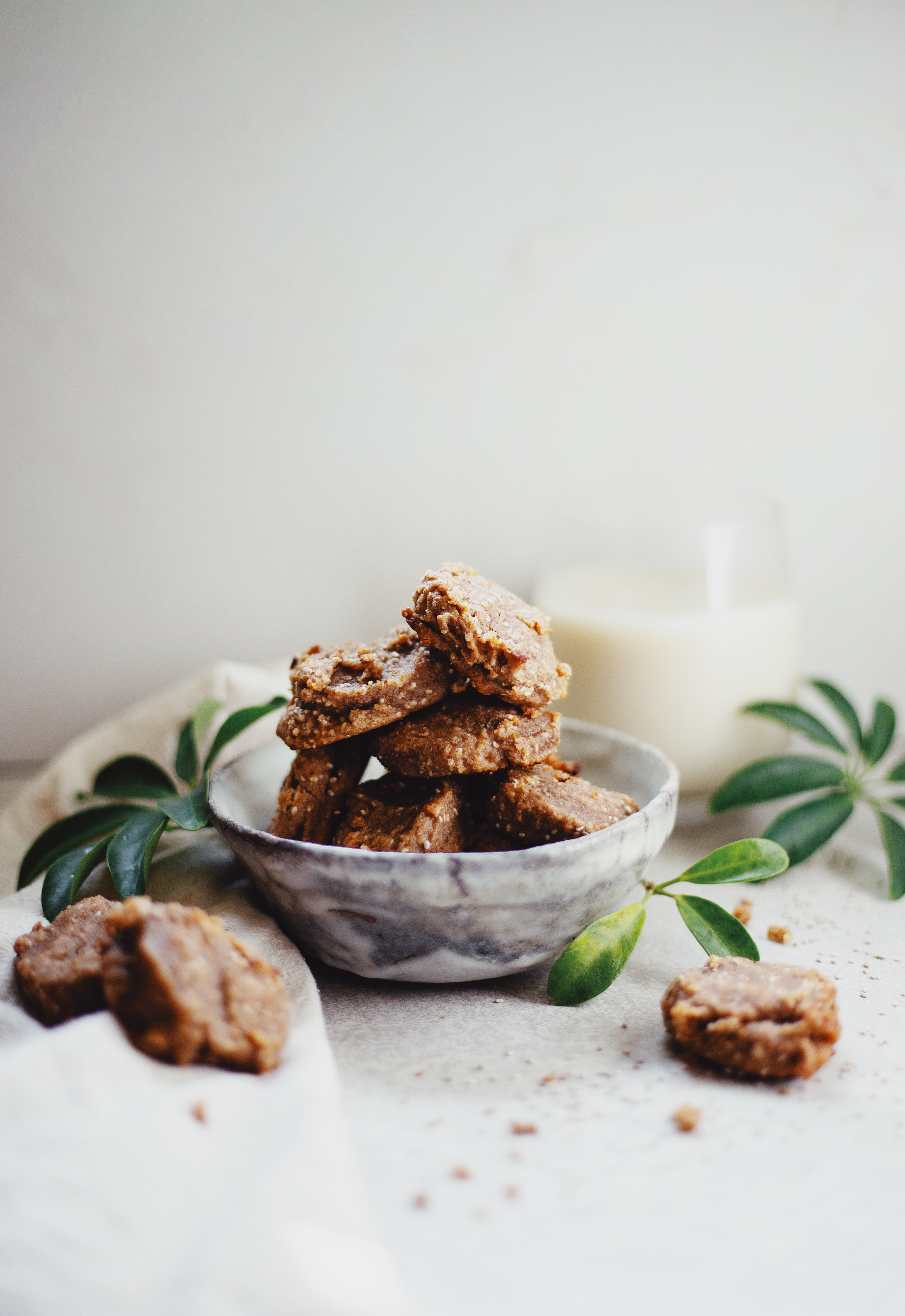Vegan and Gluten Free Cinnamon Chia Cookies Recipe