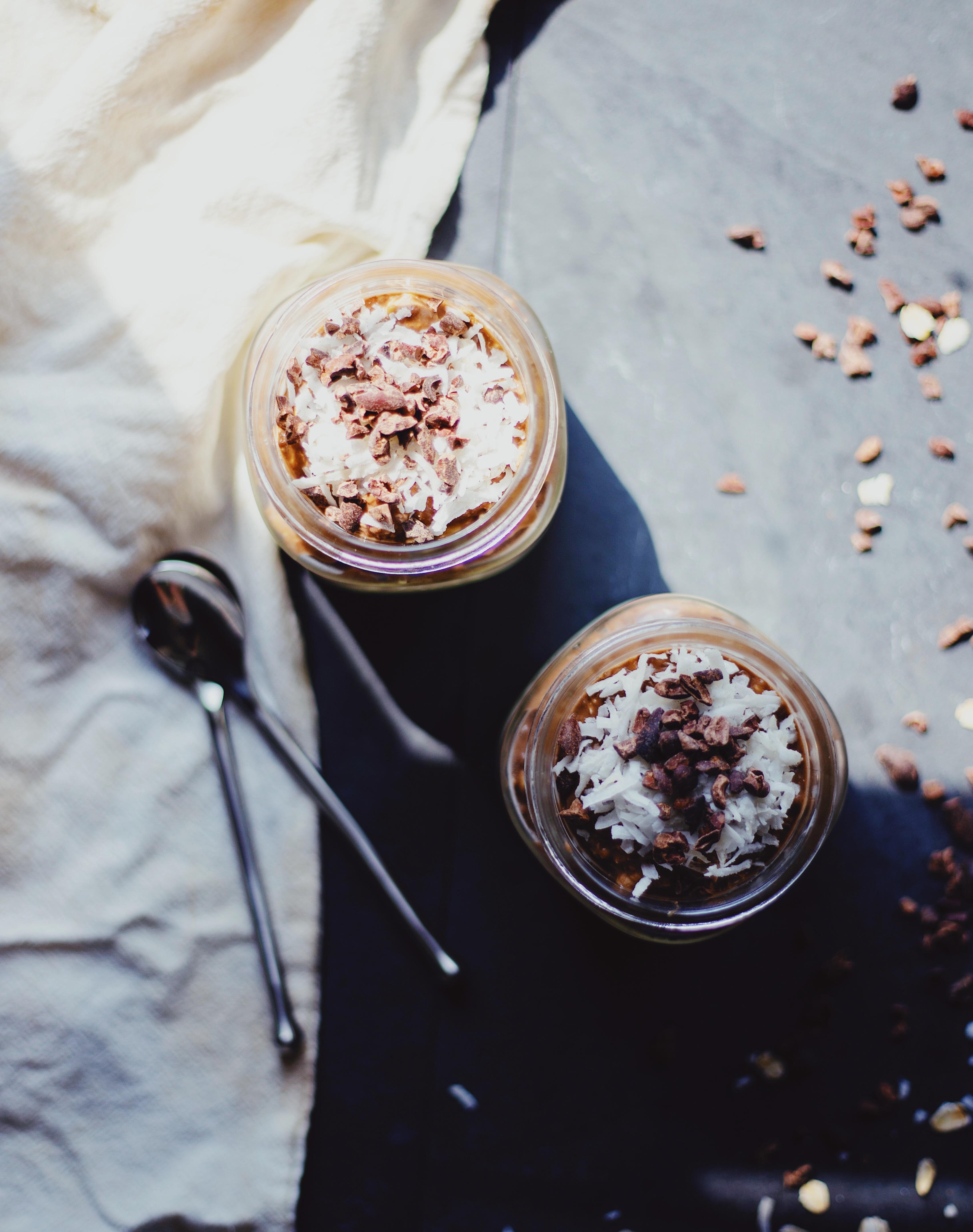 Healthy gluten free and vegan chocolate breakfast recipe