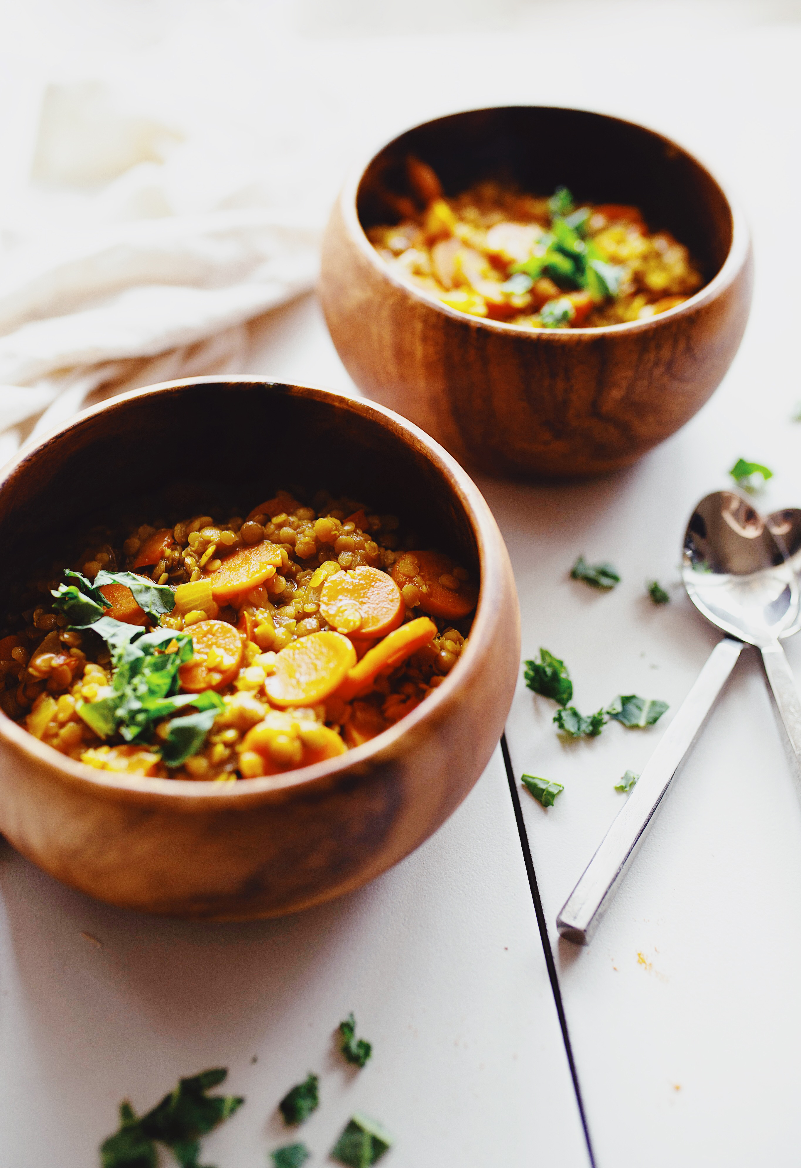 curry red lentil soup recipe