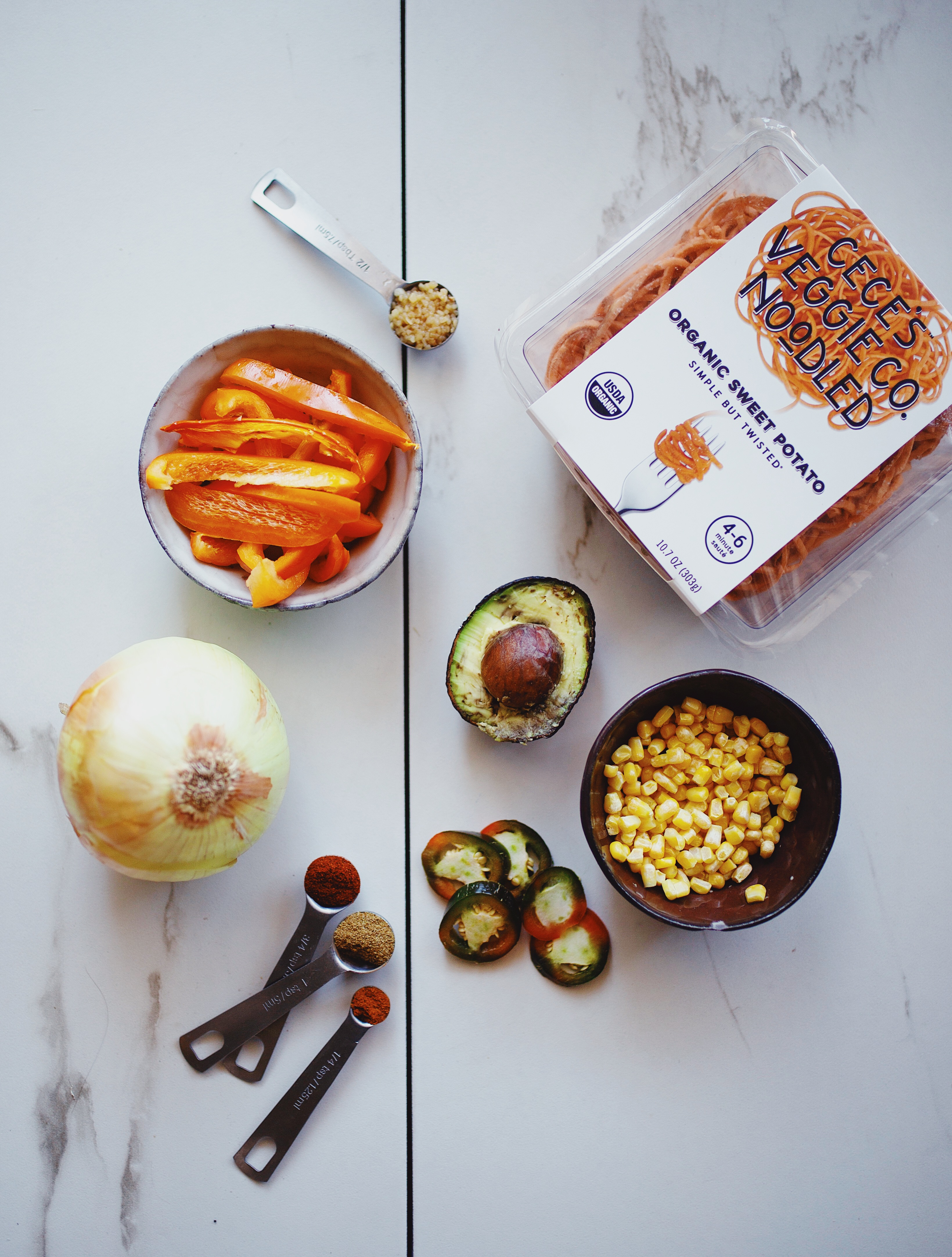 sweet potato noodles recipe