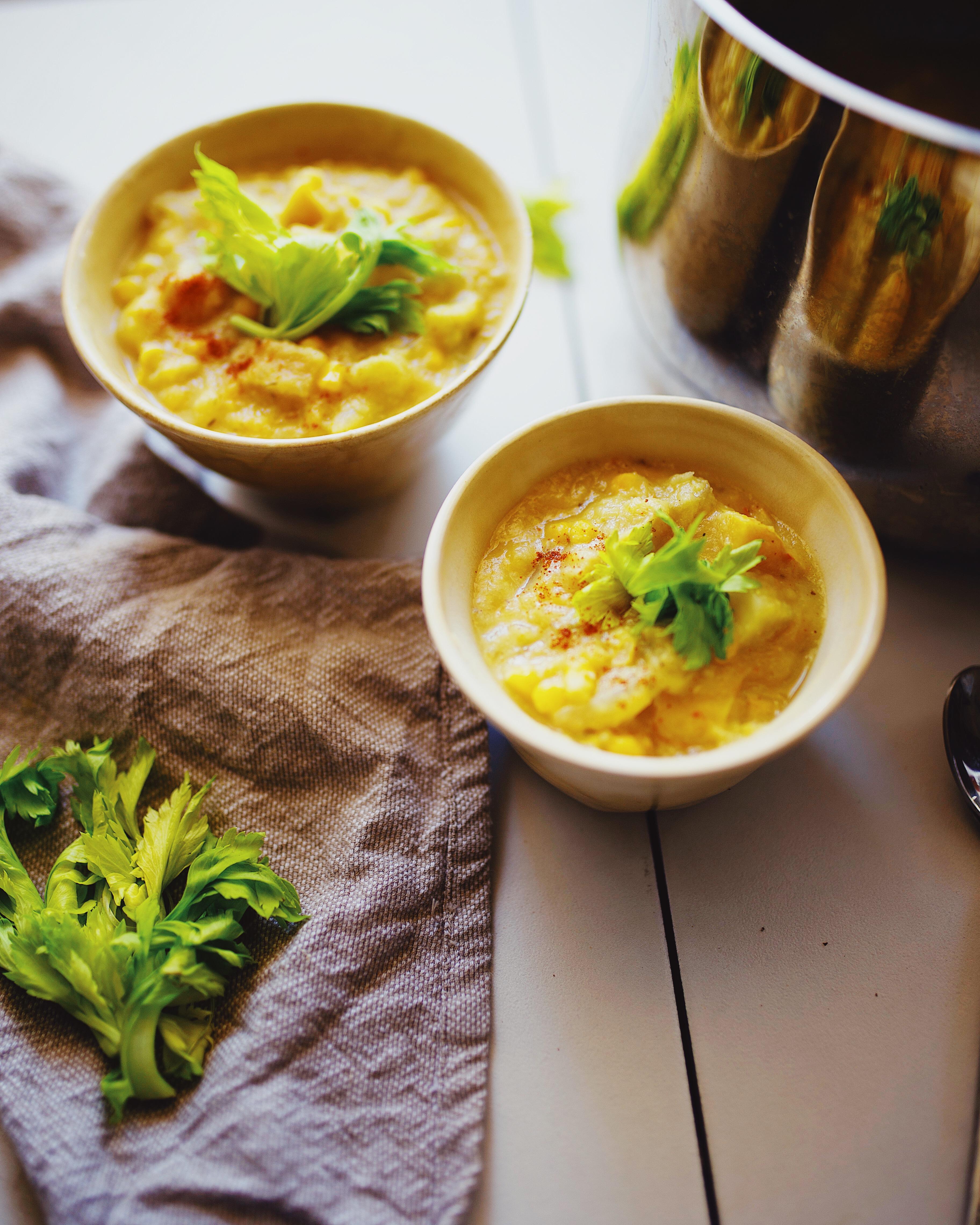 gluten free corn chowder