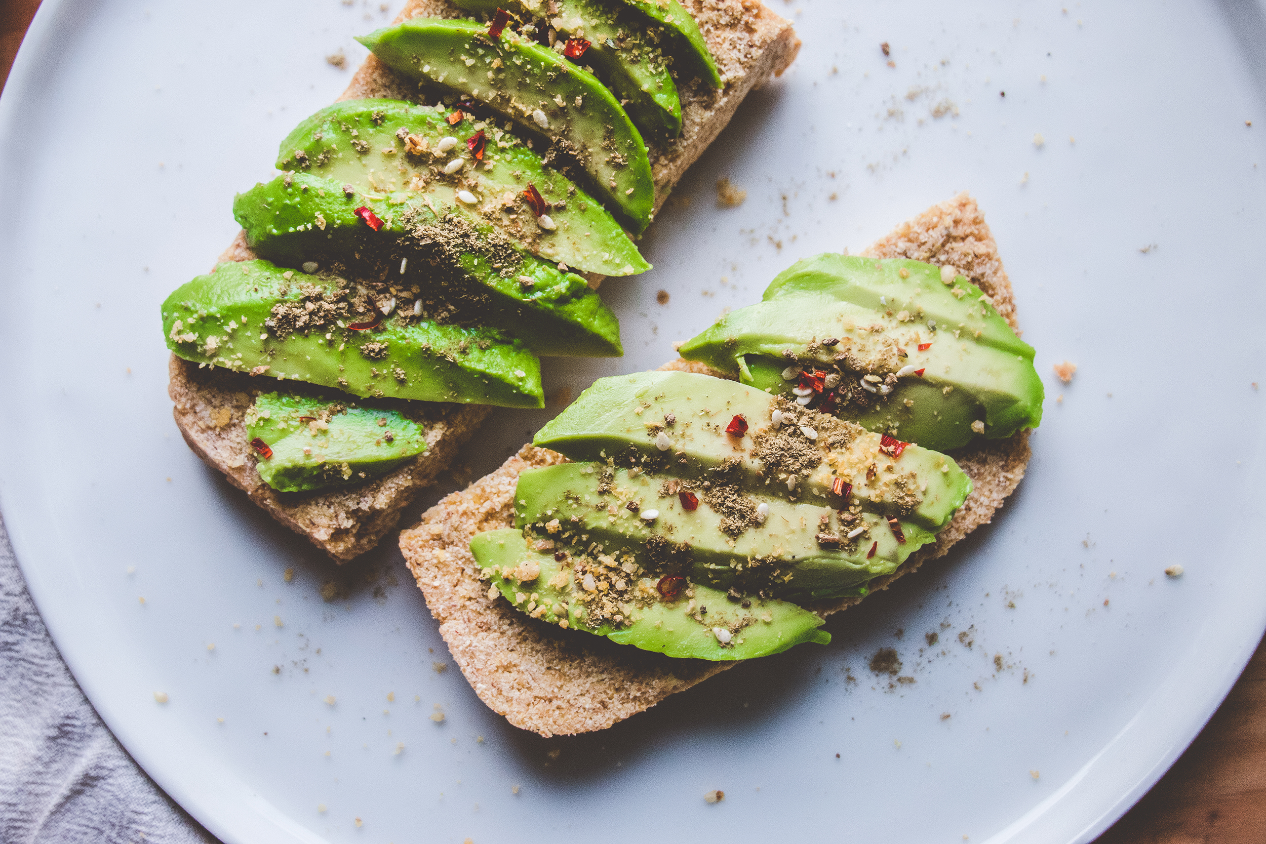 GF Avocado Toast with Za'tar