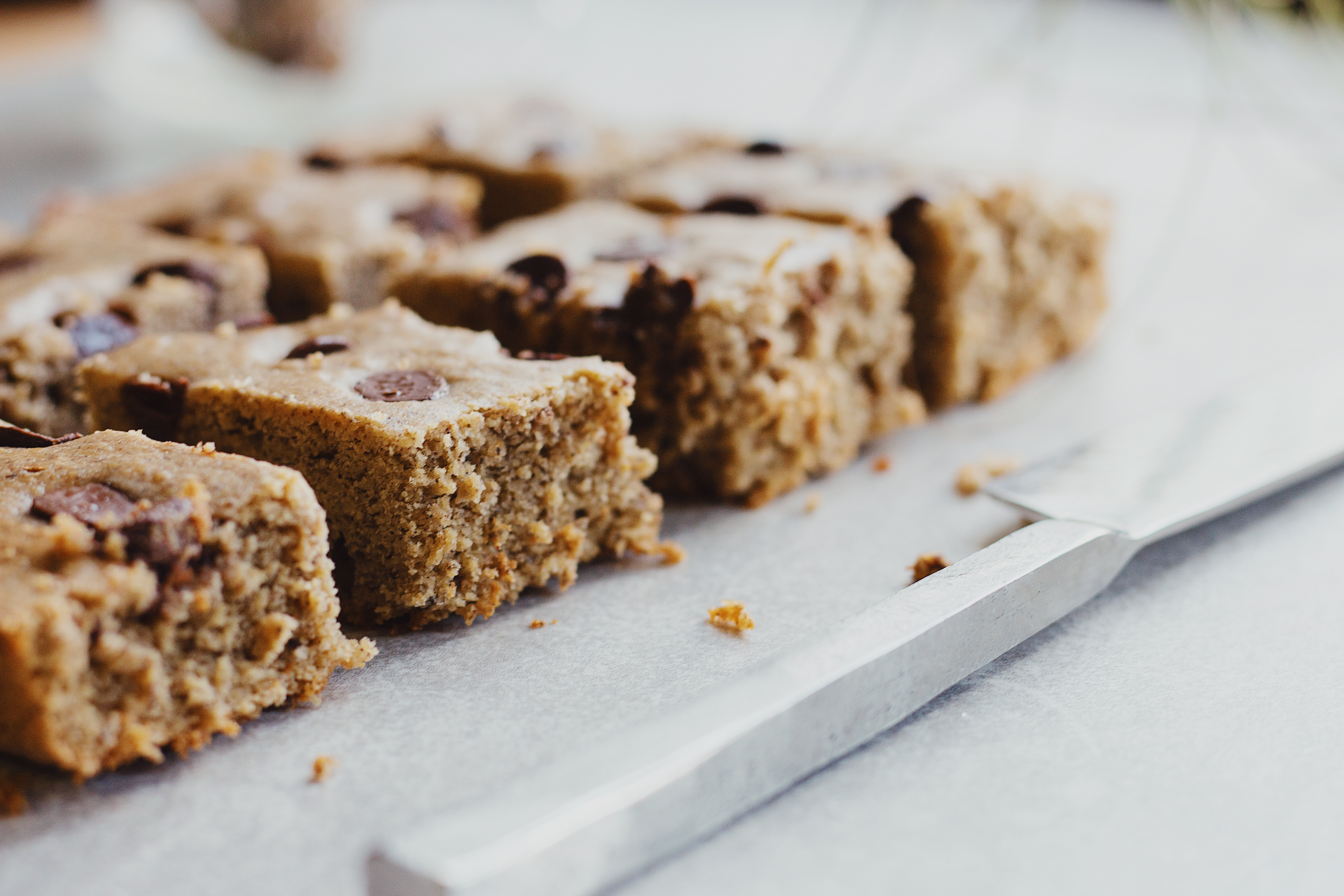 Healthy Plantain Blondies by The Local Sprout