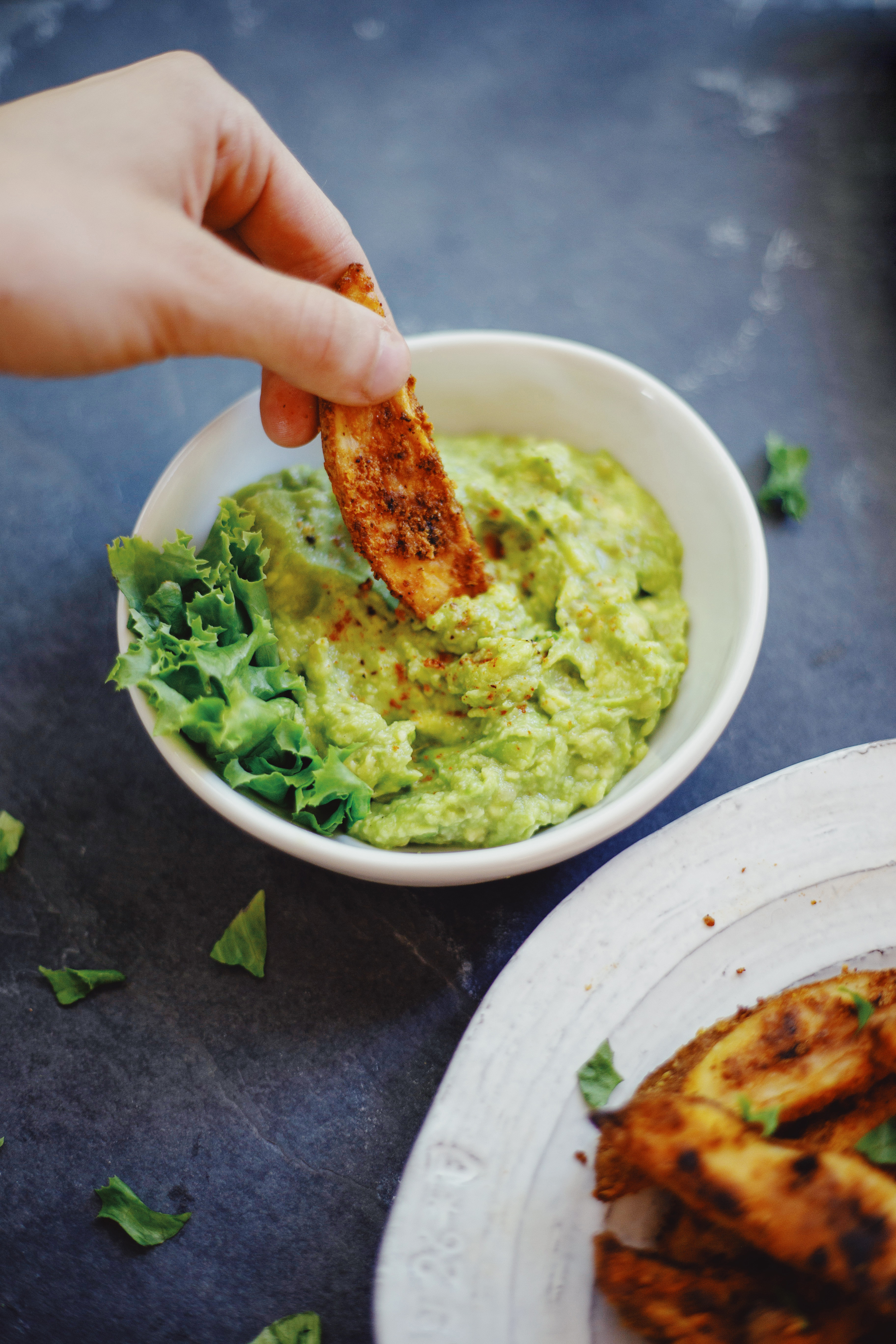 Garlicky Guac recipe by The Local Sprout
