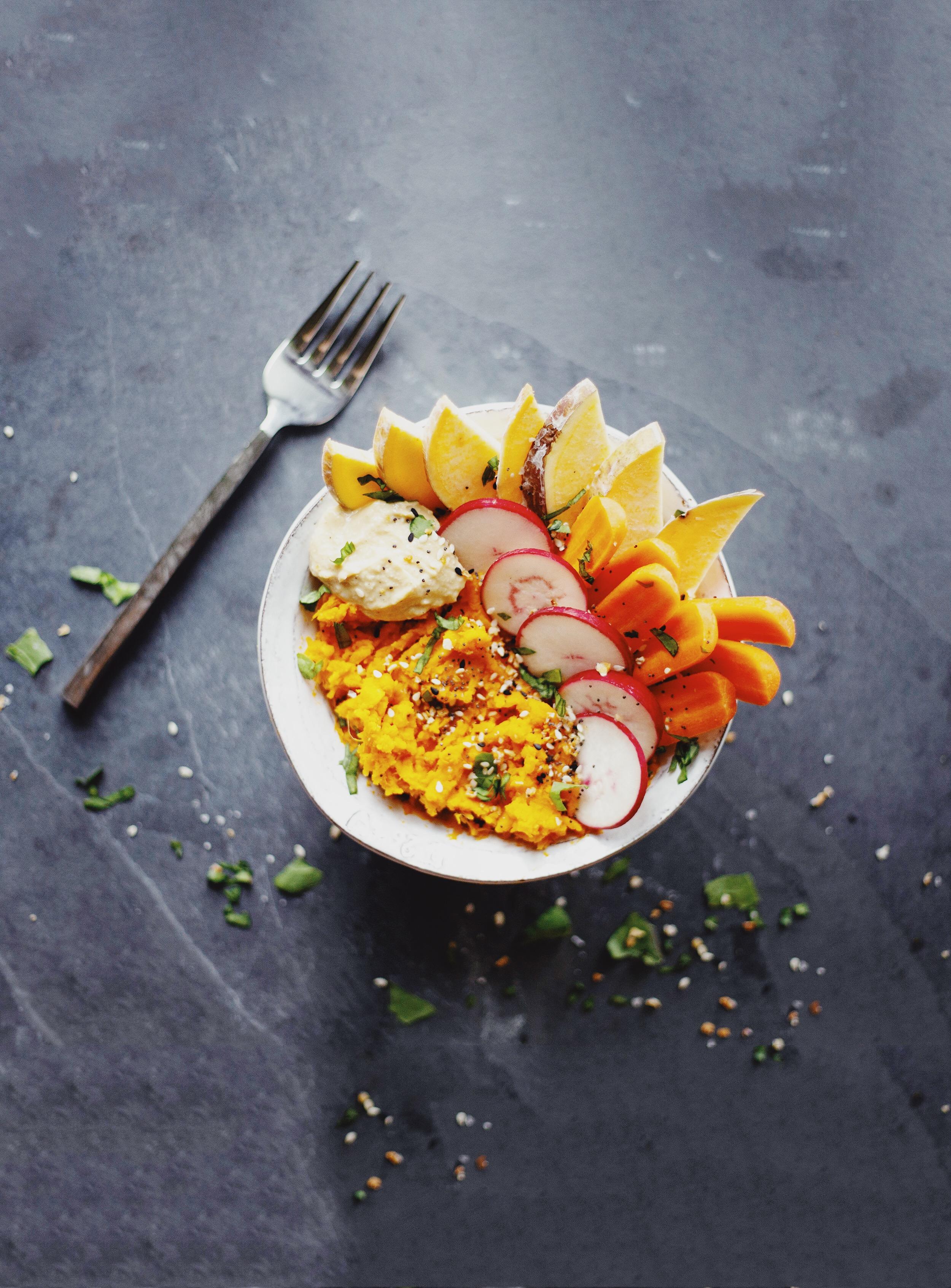 7-minute Sweet Potato Bowl Recipe - gluten free and vegan
