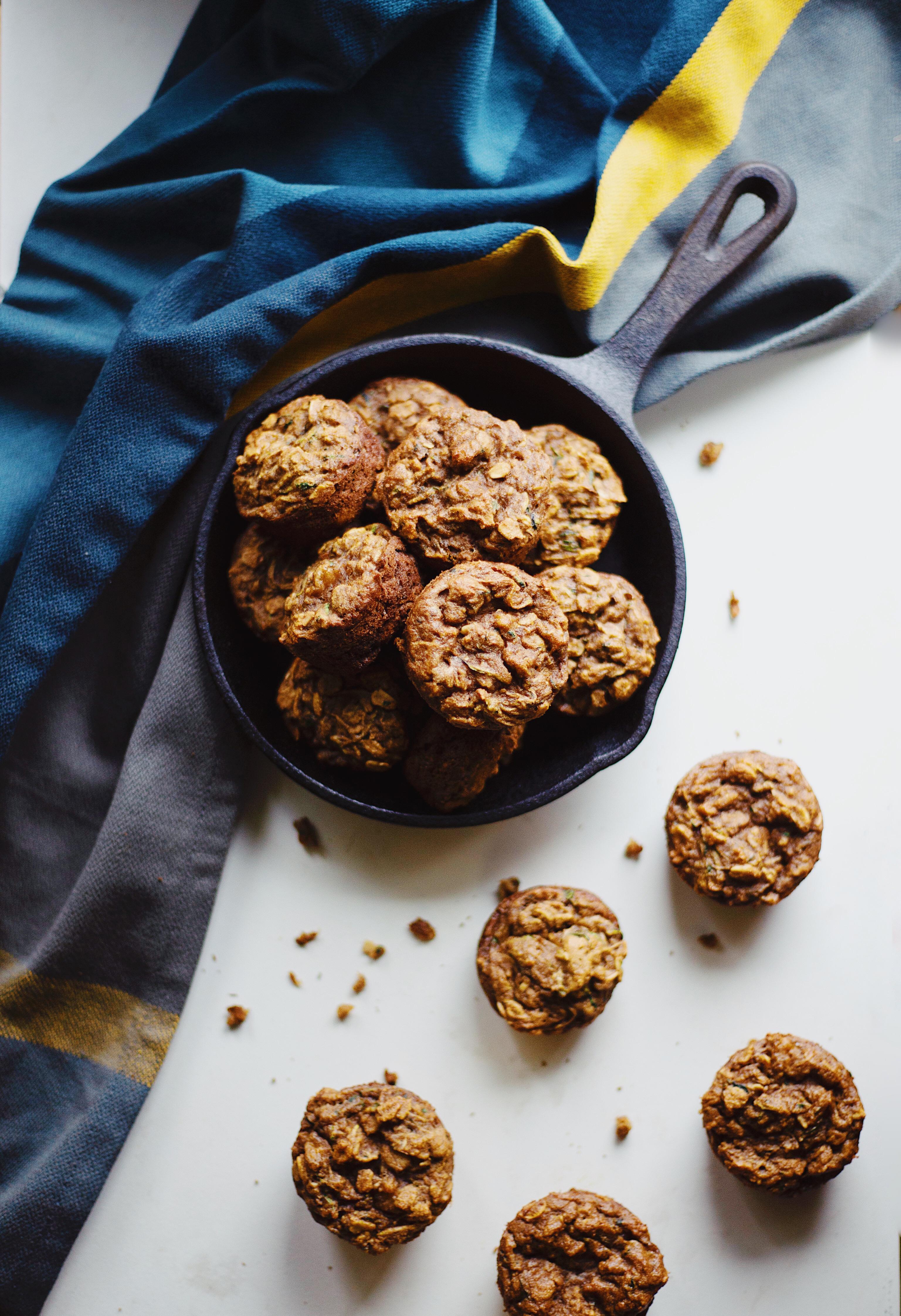Gluten Free Zucchini bread muffins recipe