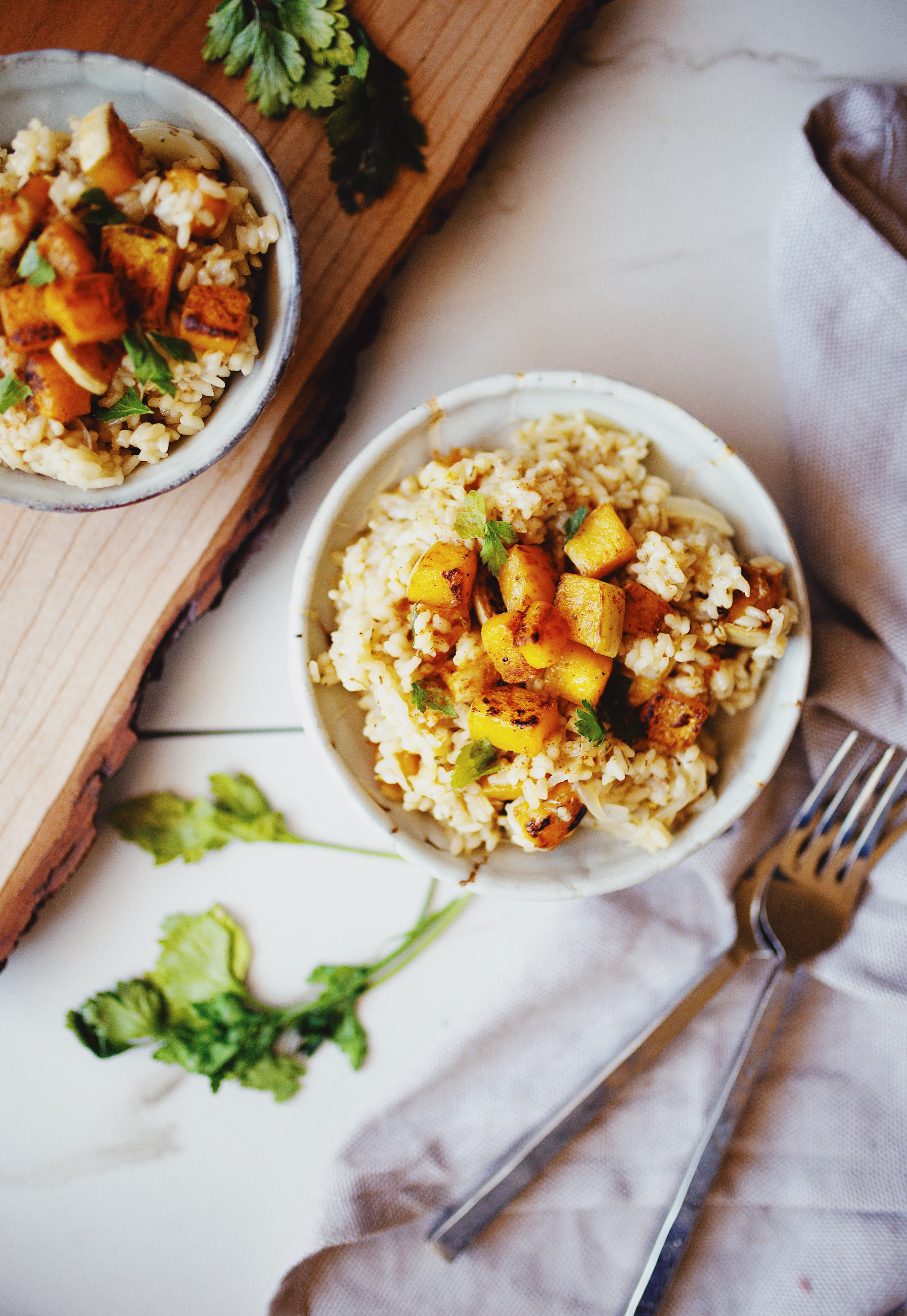Simple vegan risotto recipe