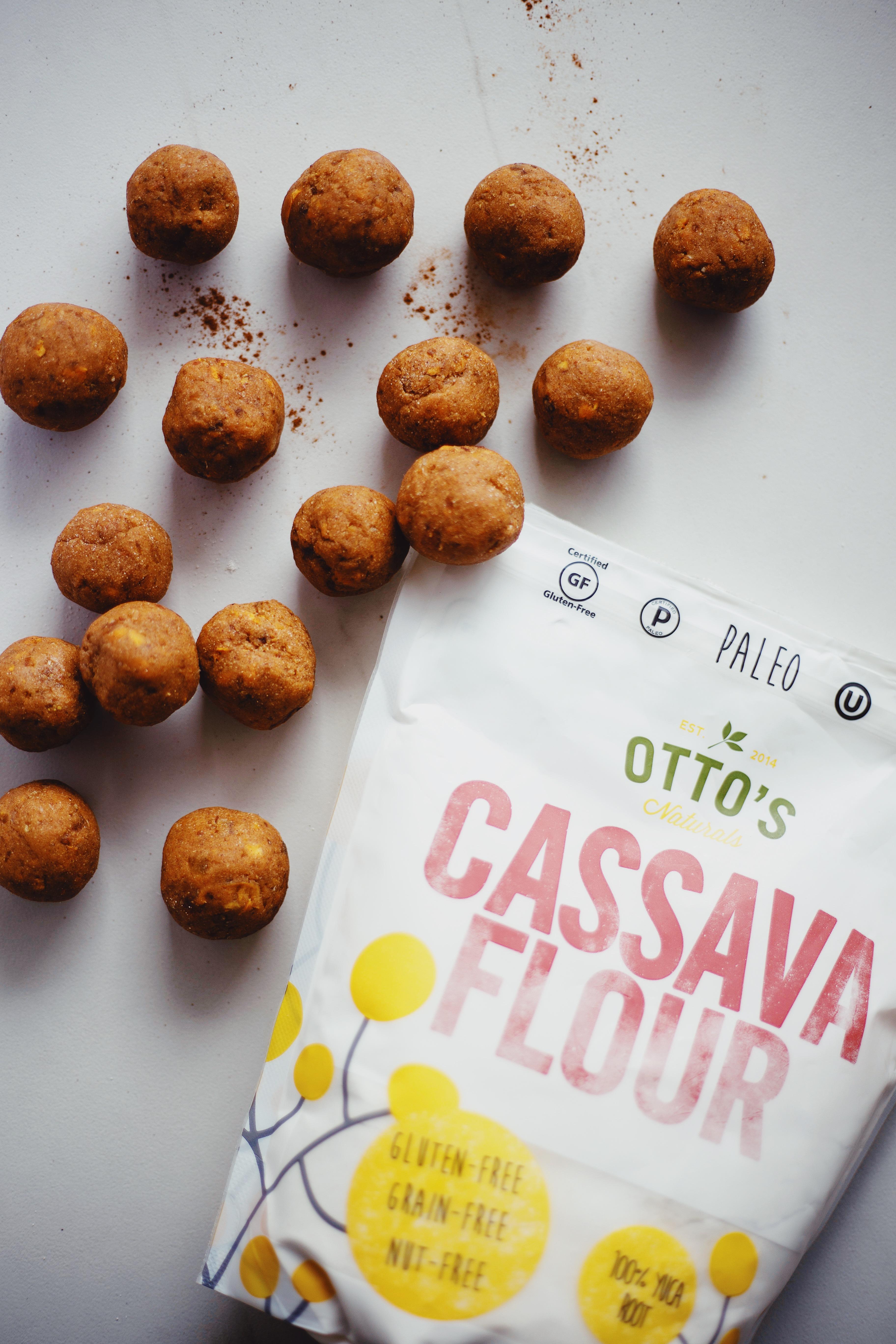 Cassava flour balls recipe