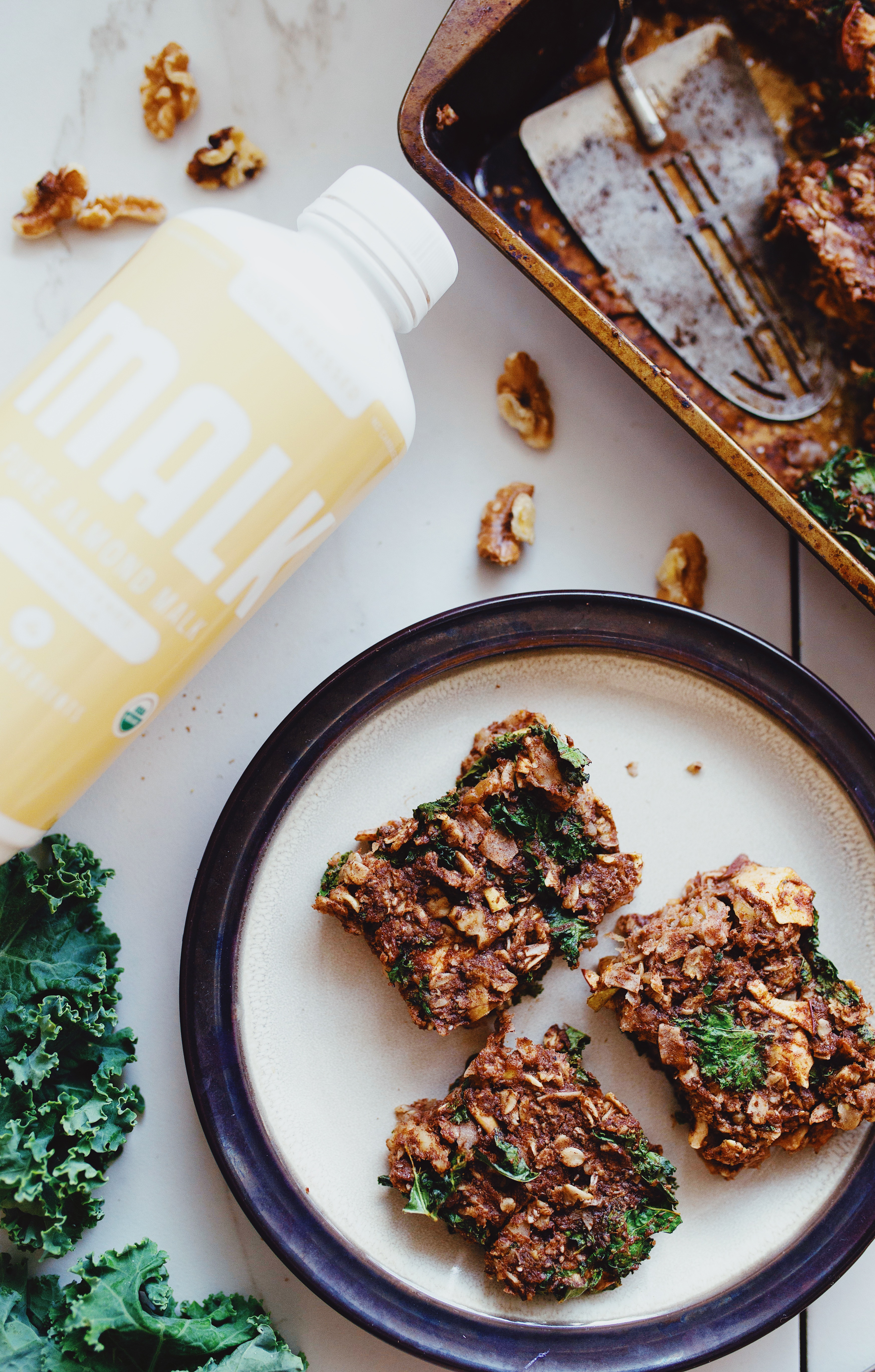 Oat and Kale Superfood Bars