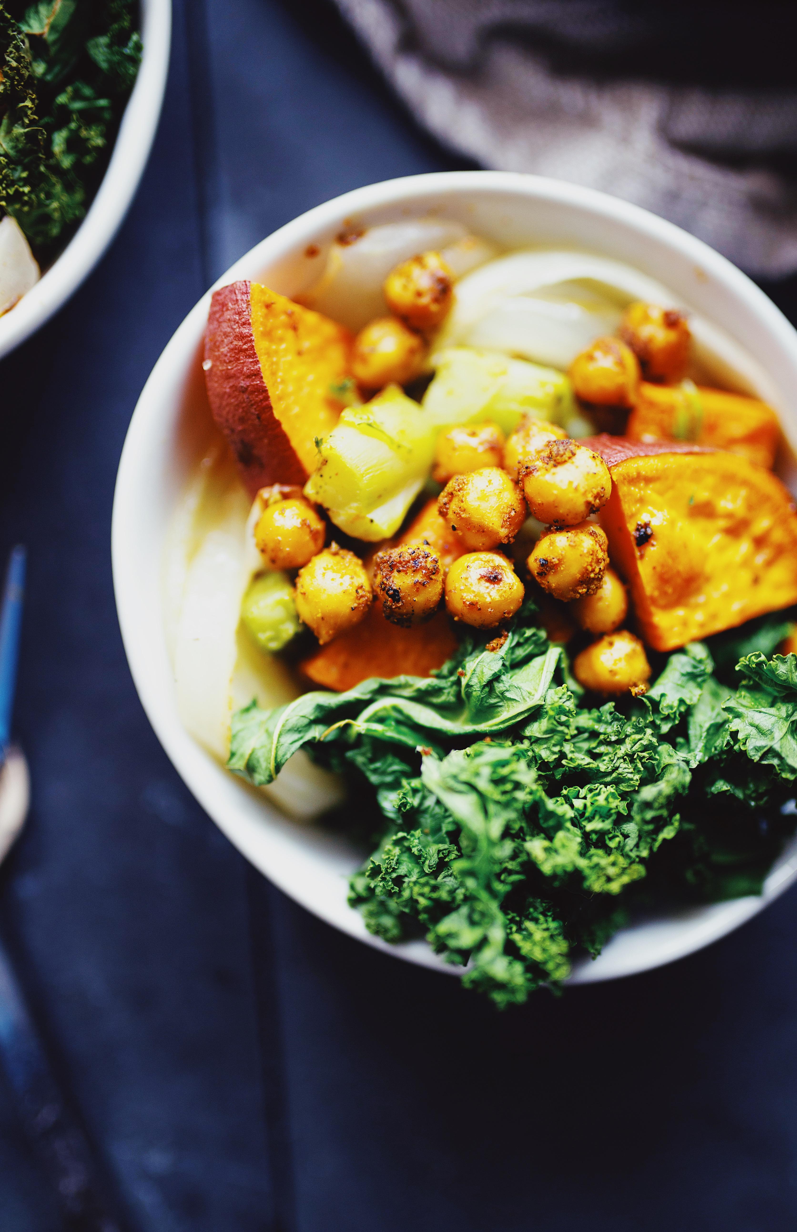 Buddha Bowl Sweet Potato