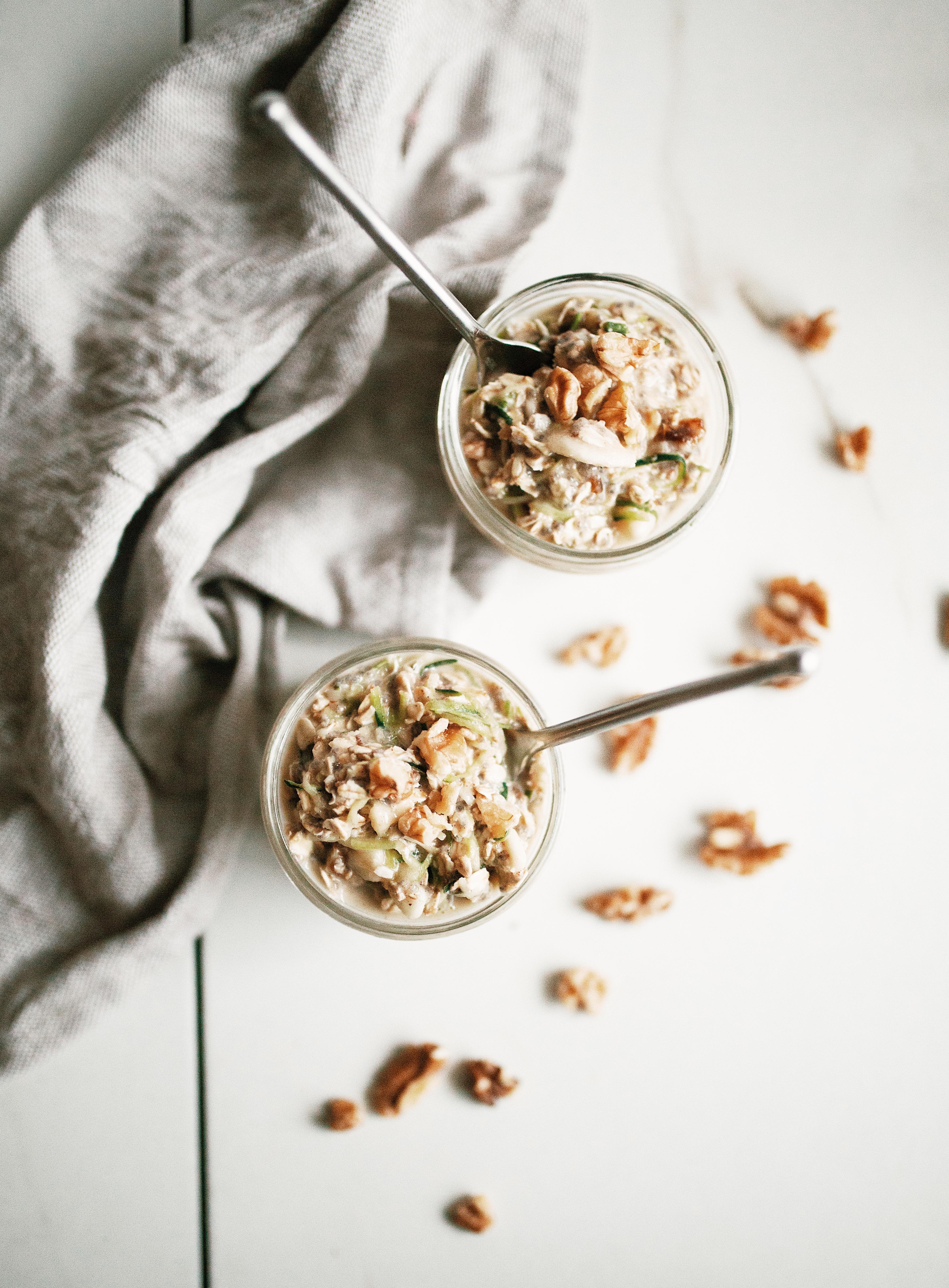 overnight oats zucchini