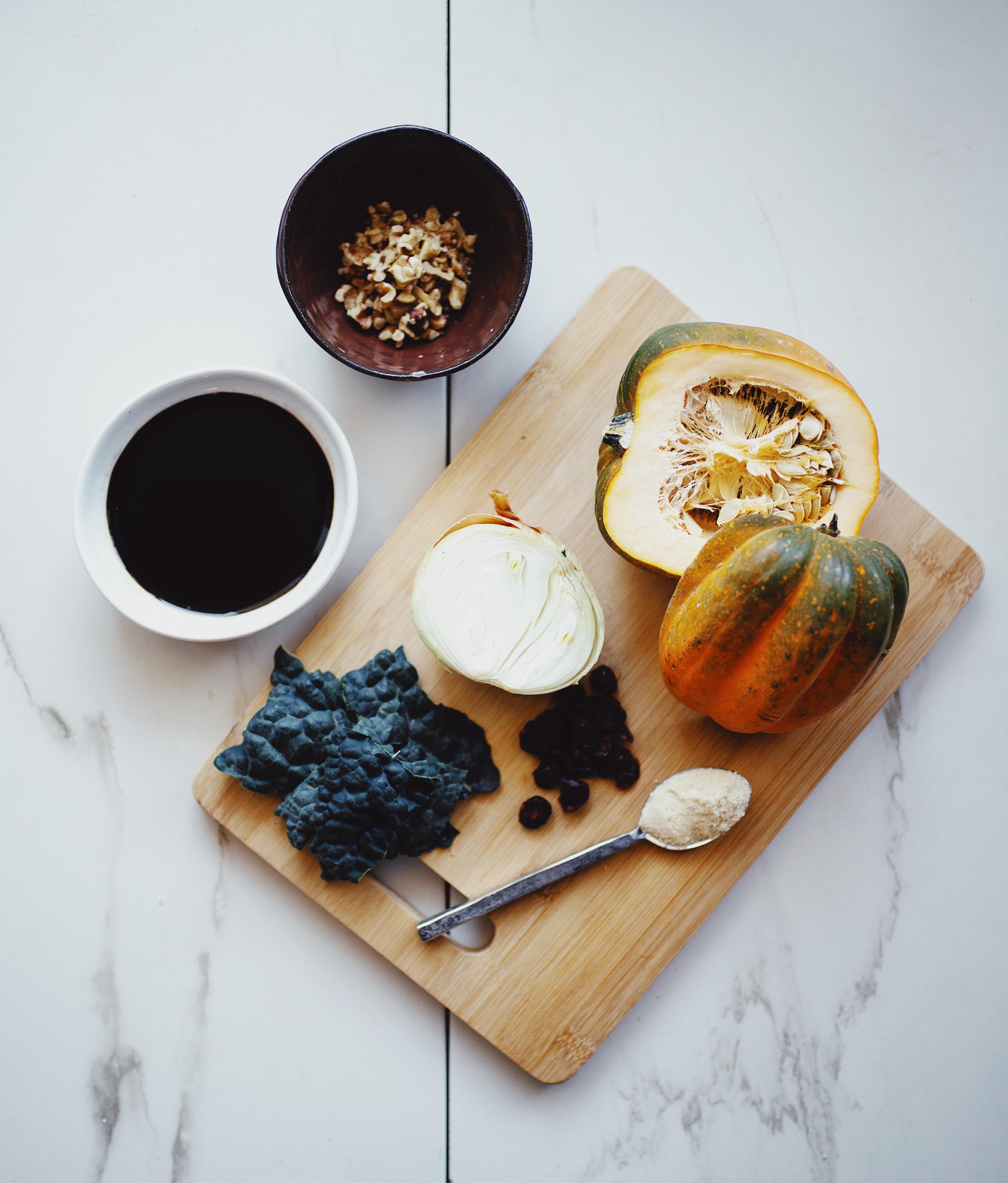 acorn squash salad