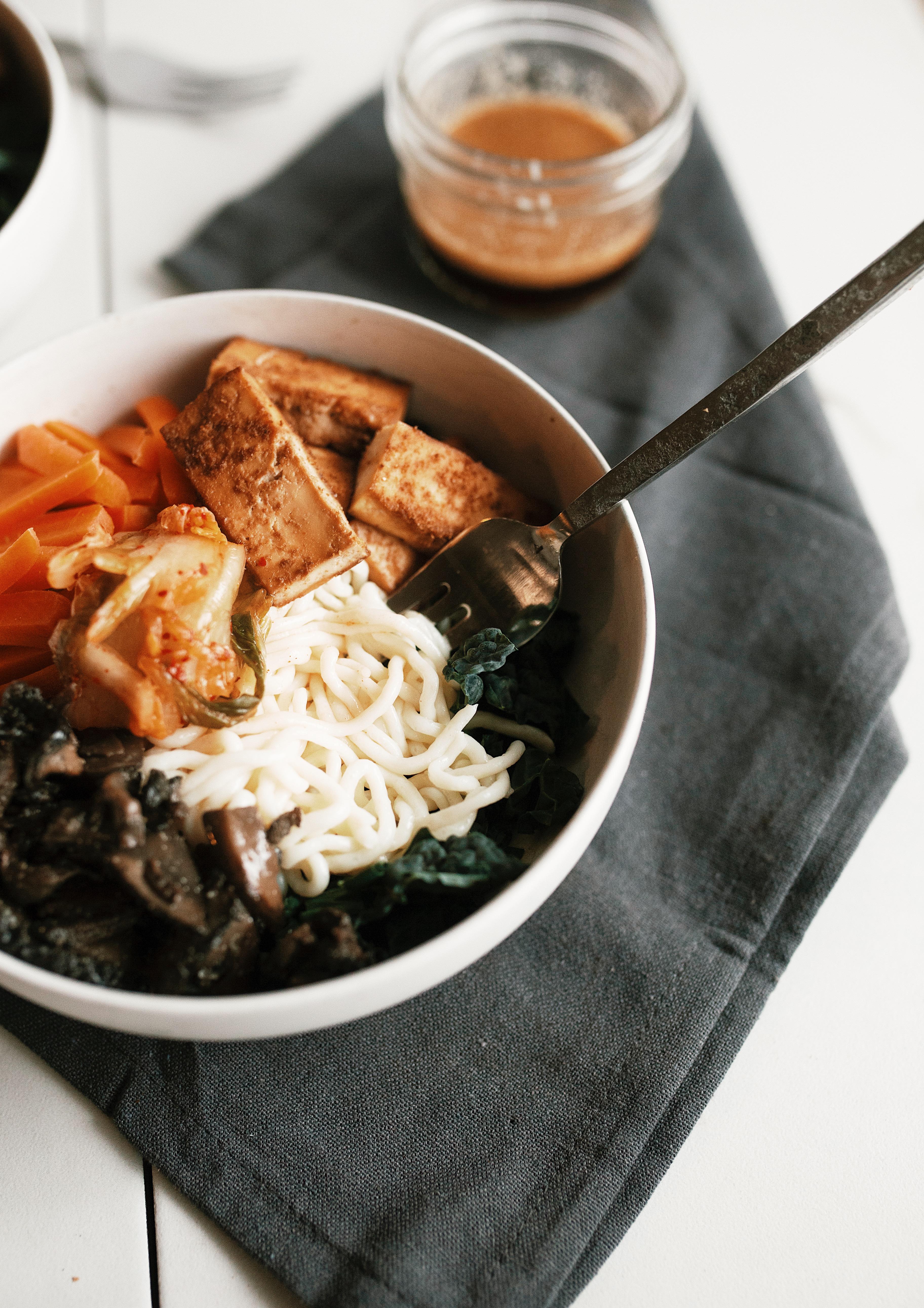 gluten free noodle bowl