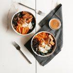 vegan noodle bowl