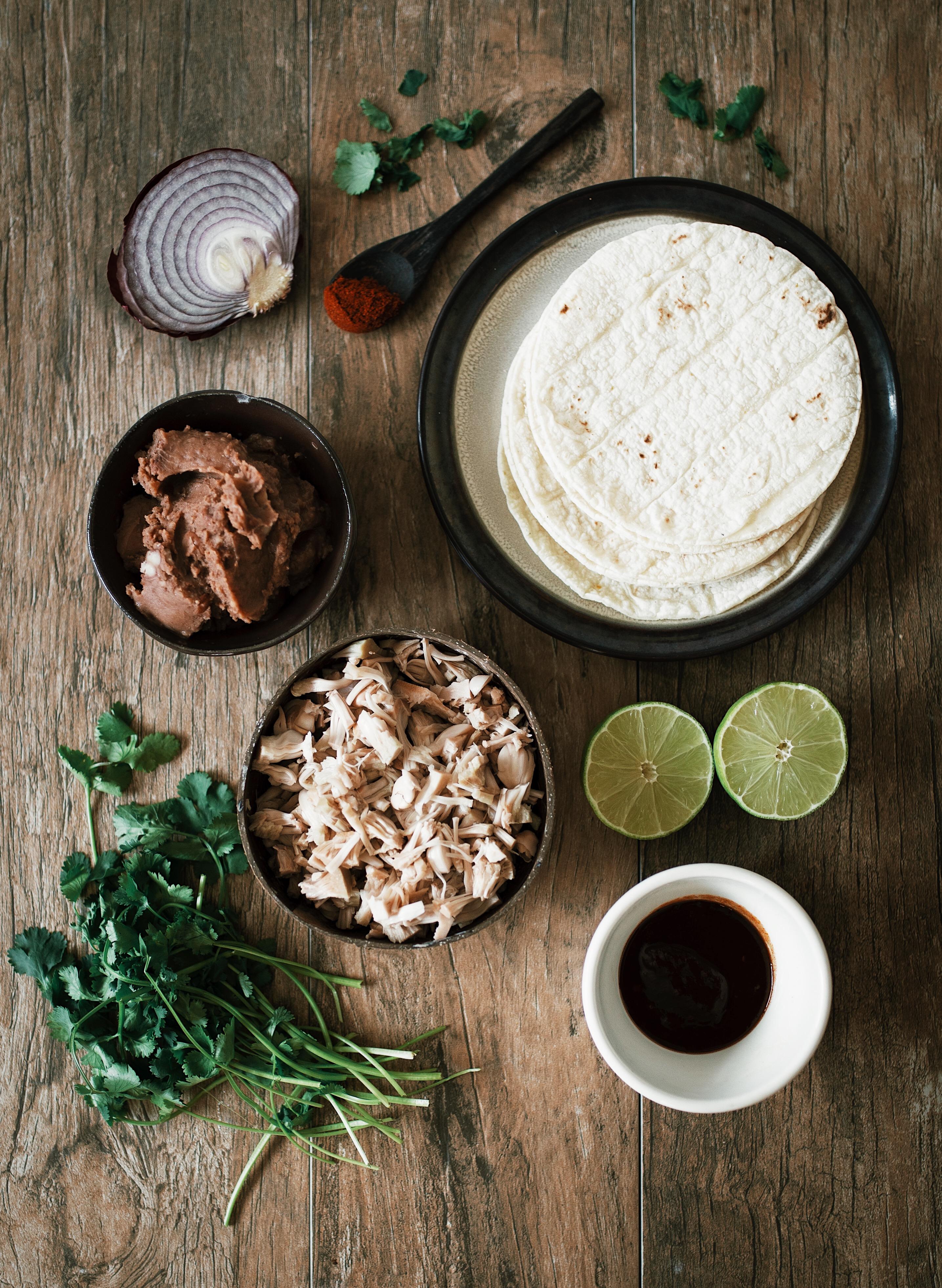 gluten free vegan tacos