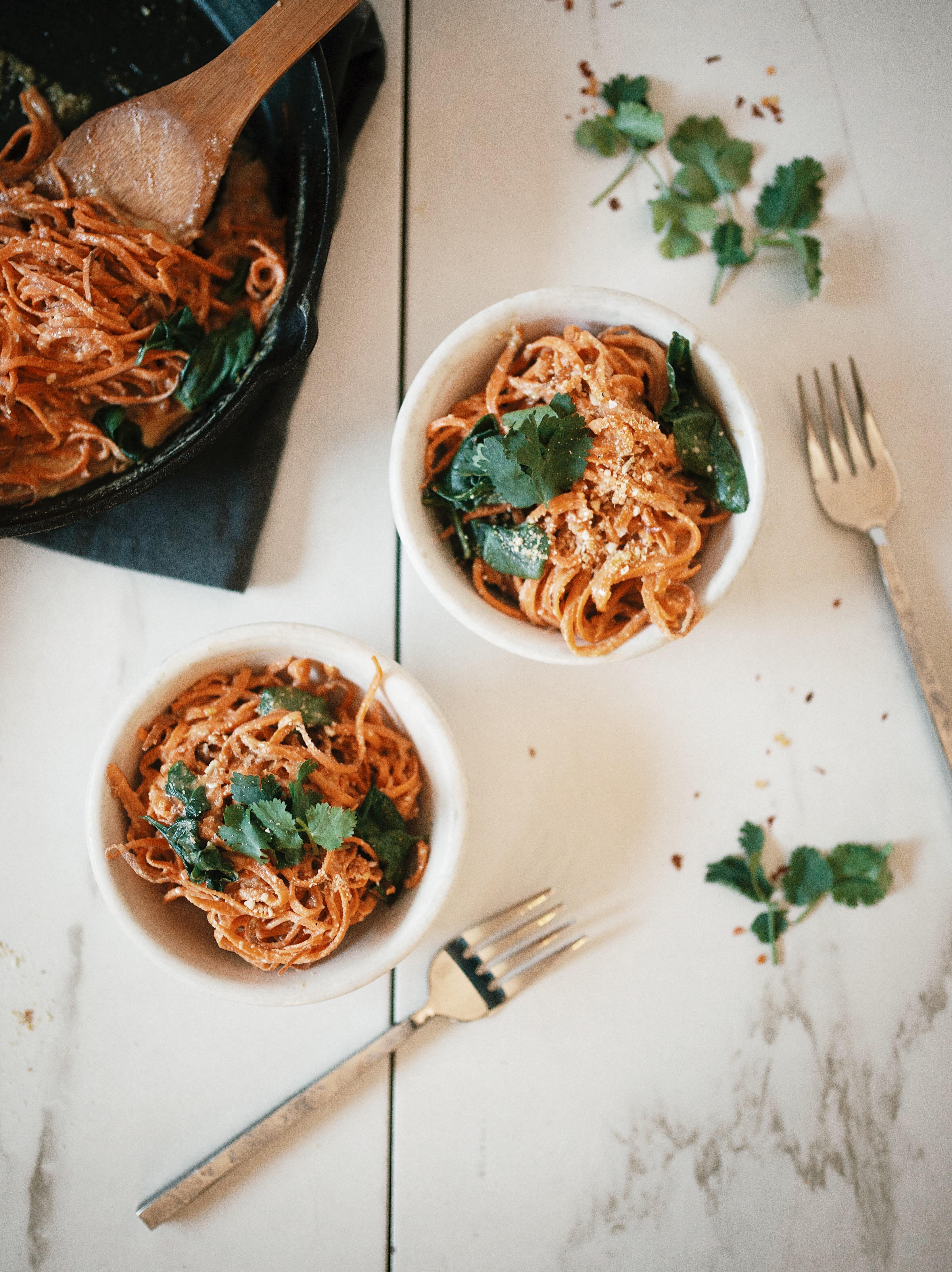 sweet potato pasta sauce vegan
