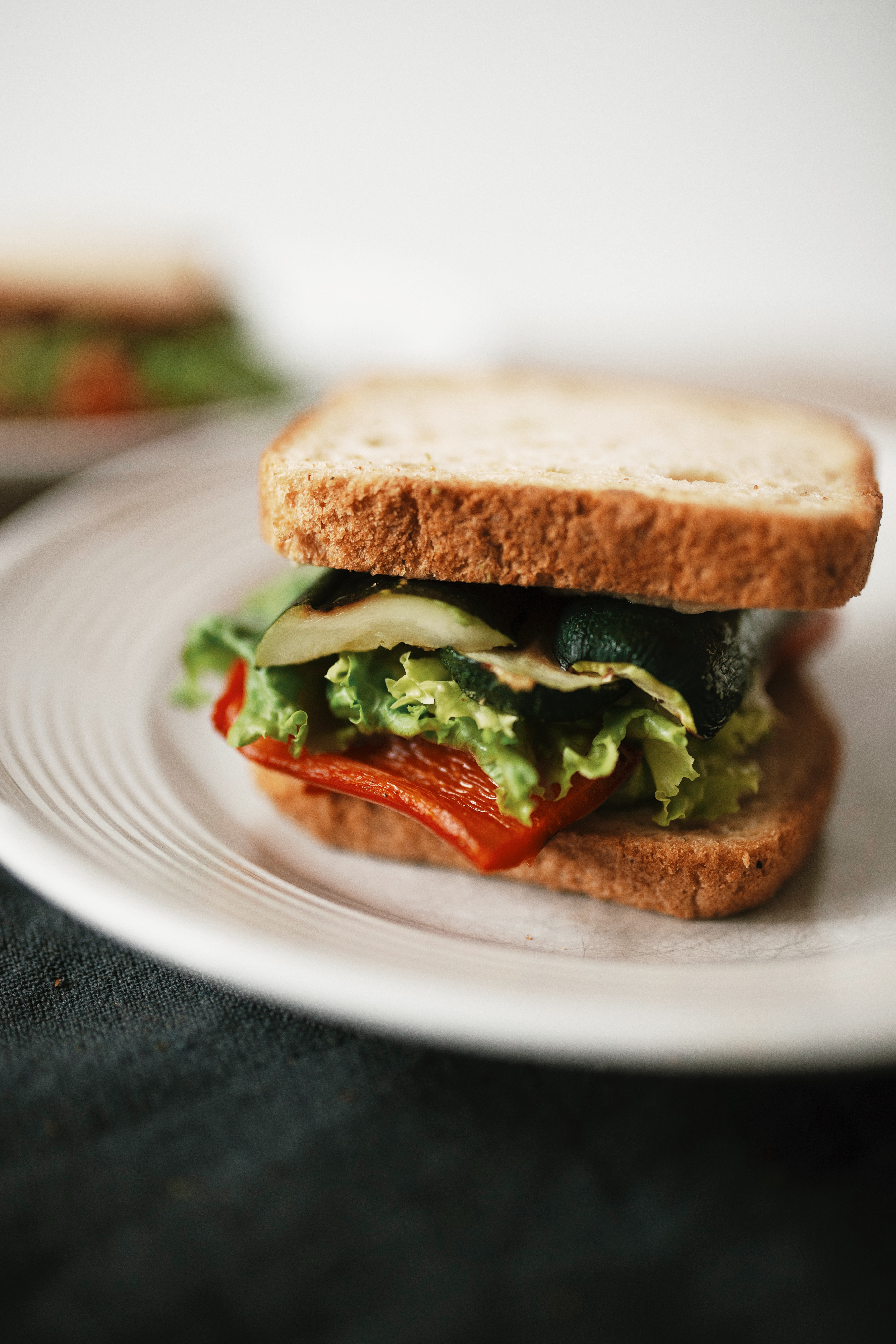 vegetarian avocado sandwich