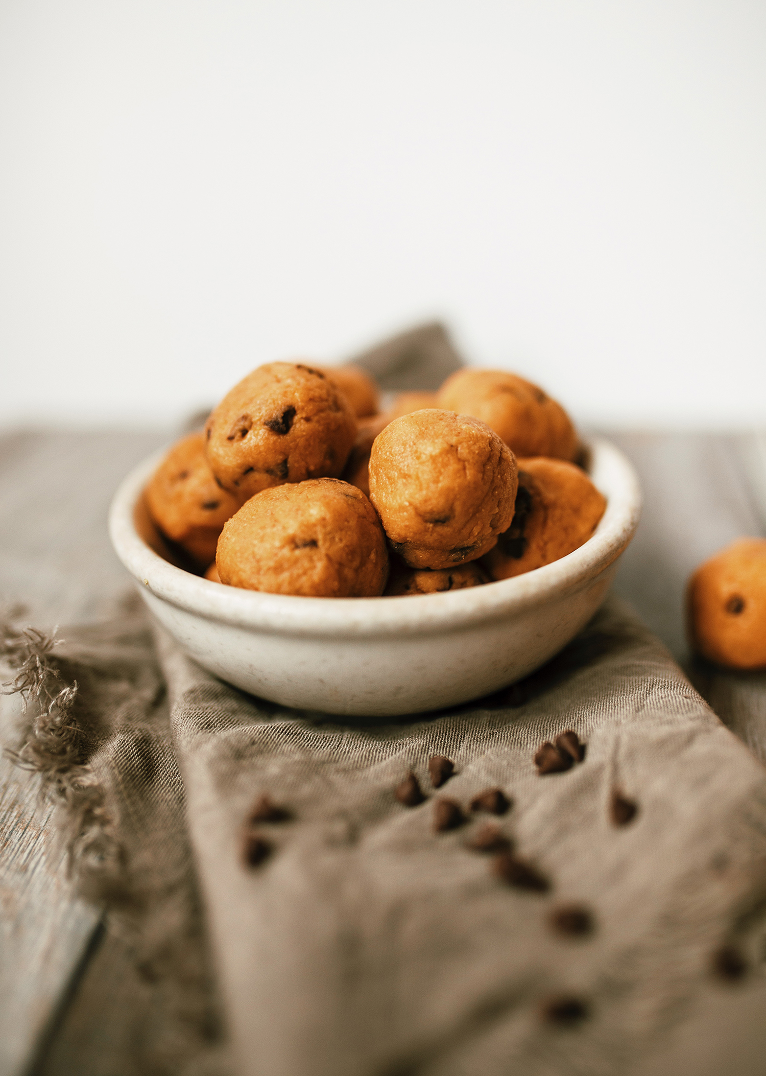 chickpea chocolate chip cookie dough