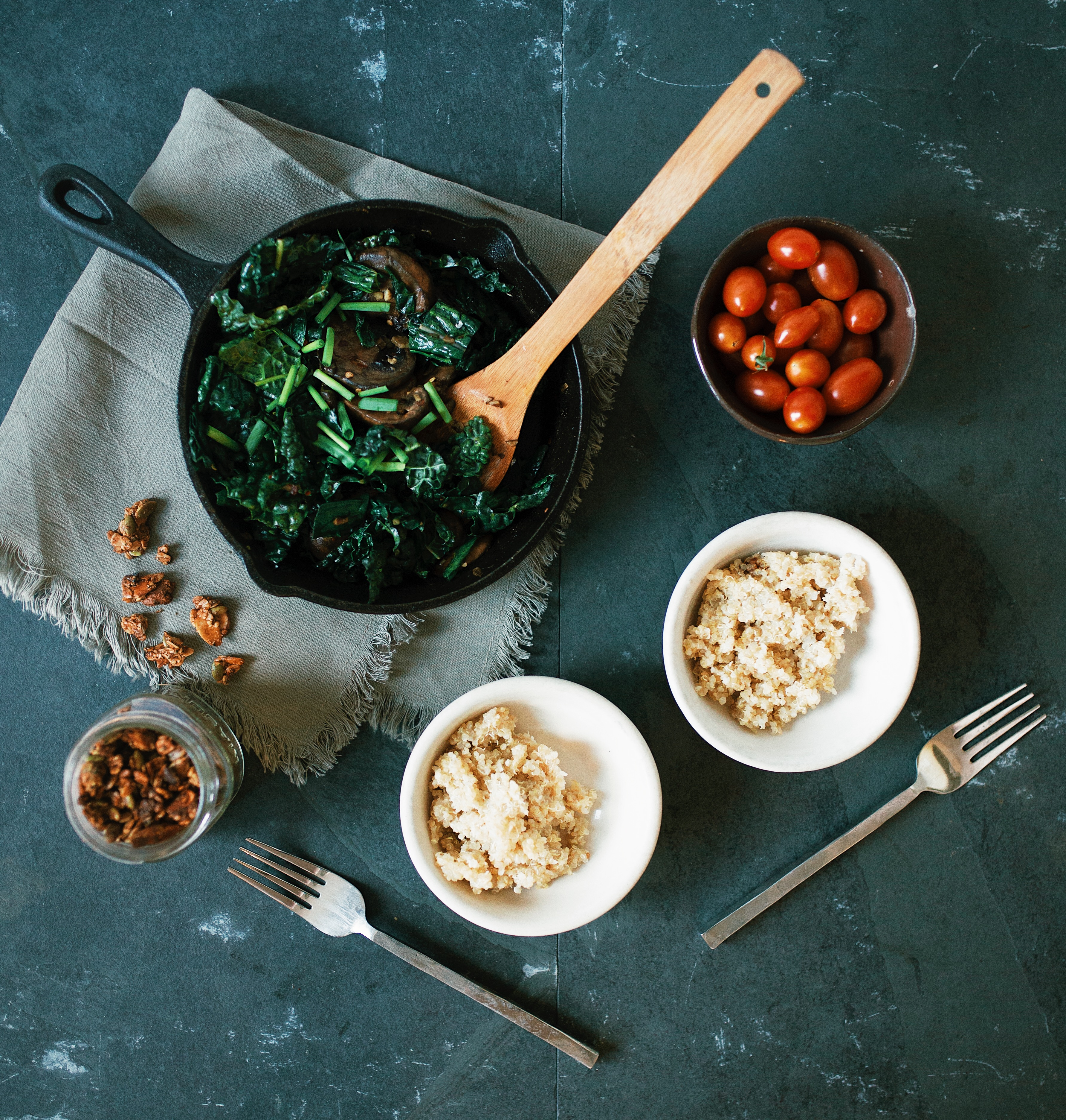 kale and quinoa recipe