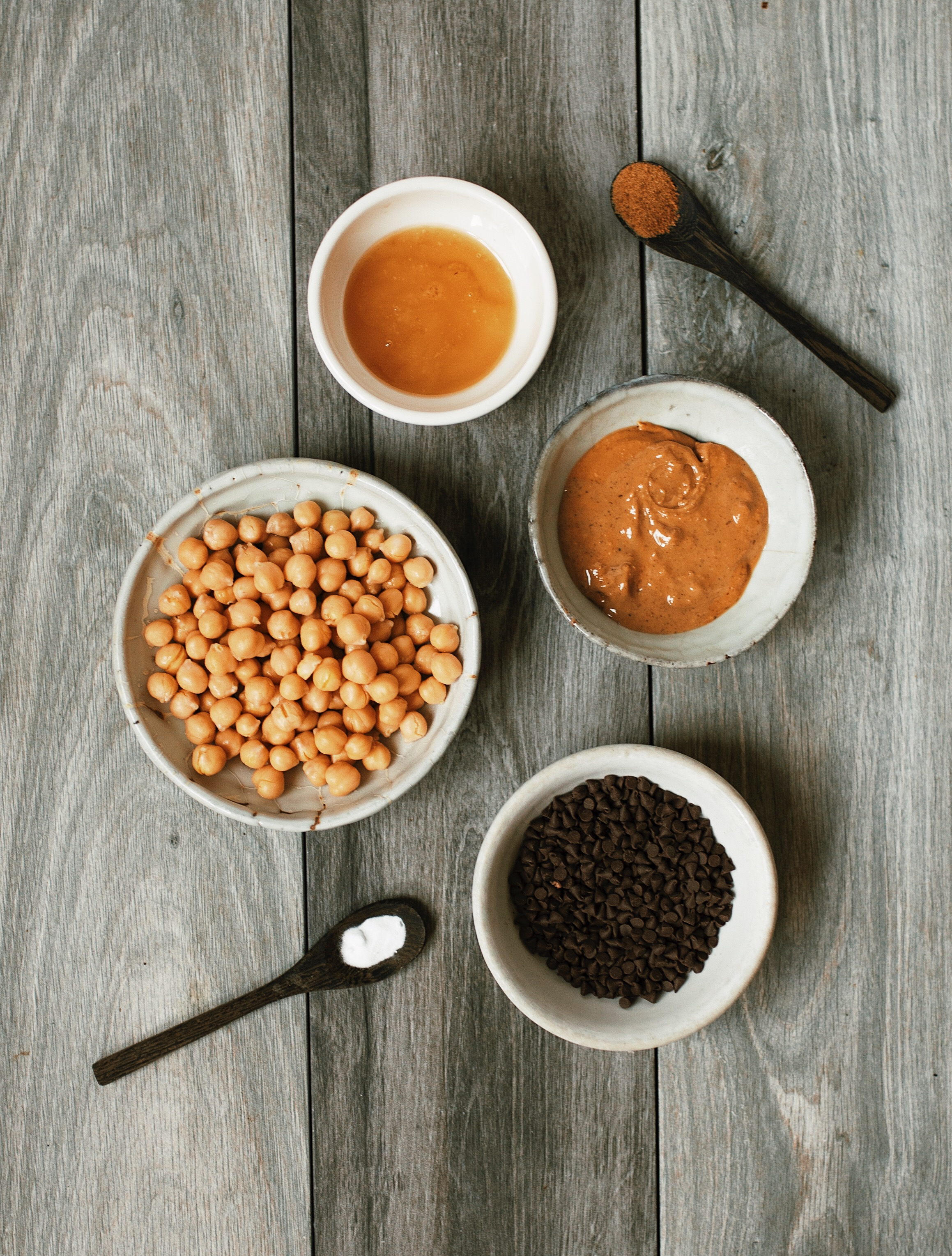protein chickpea cookie dough