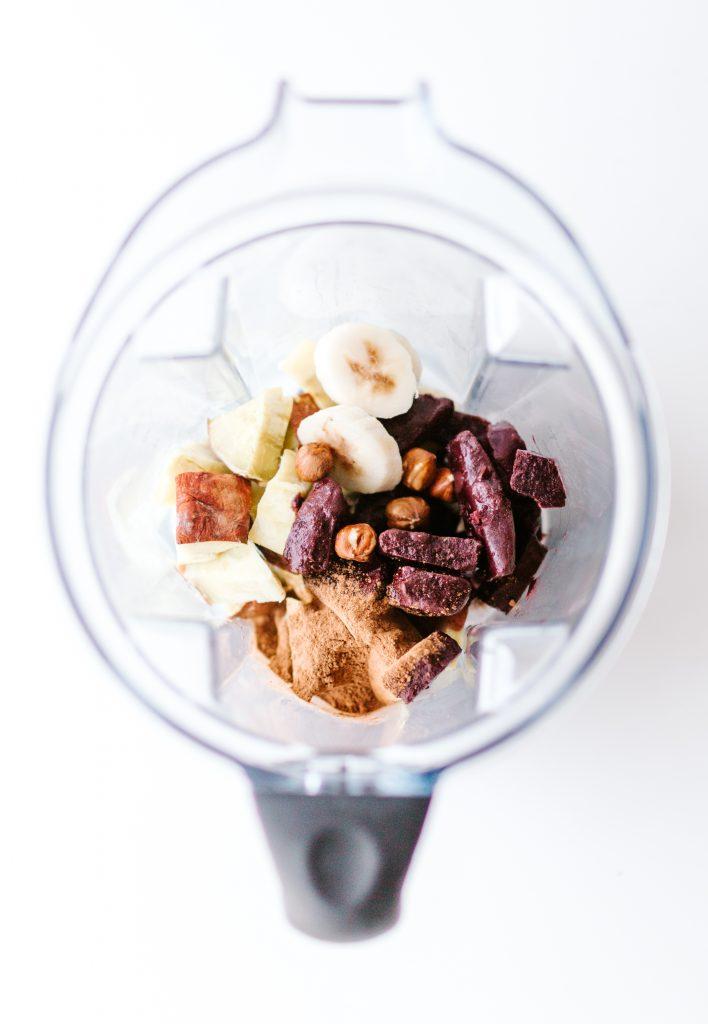 Healthy Nutella Smoothie Bowl Recipe with Acai