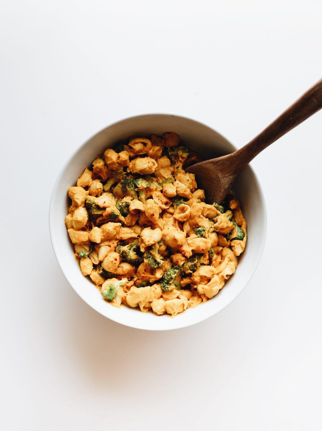 Vegan butternut squash mac and cheese recipe